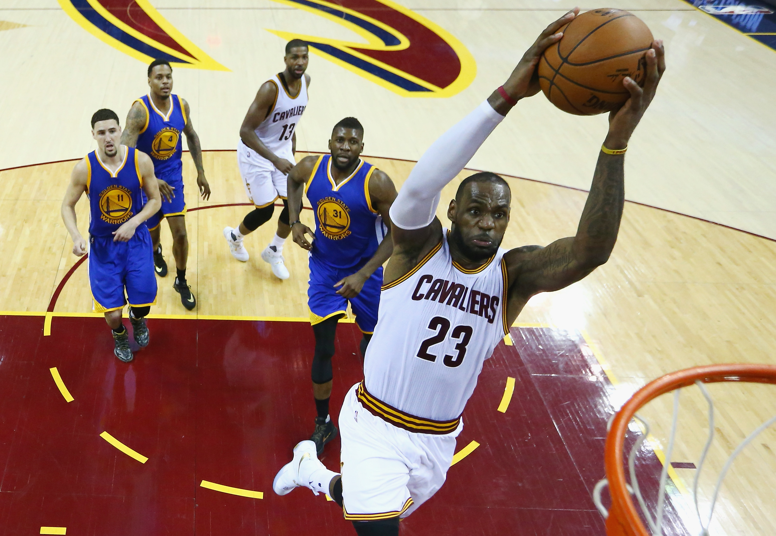 Rivalry Renewed: Warriors vs. Cavaliers