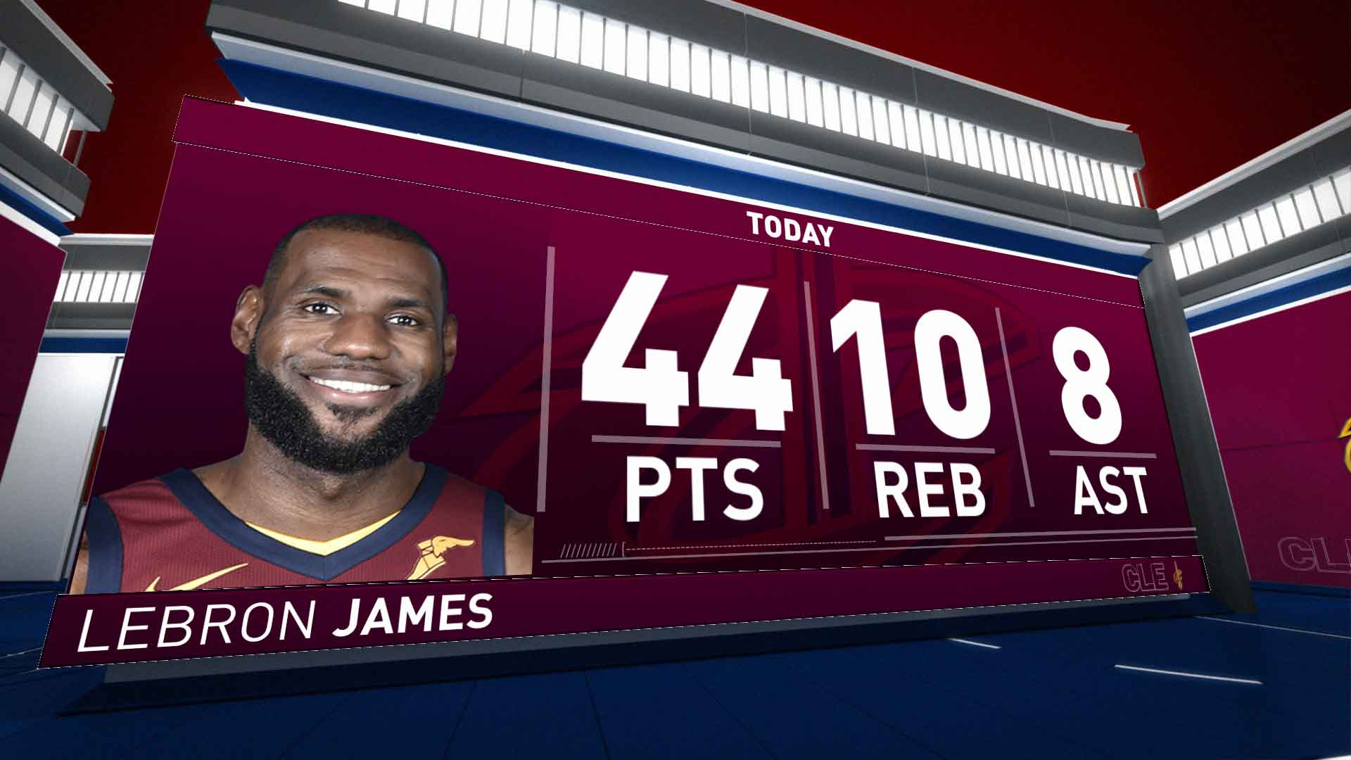 LeBron James (44 points) Highlights vs. Indiana Pacers