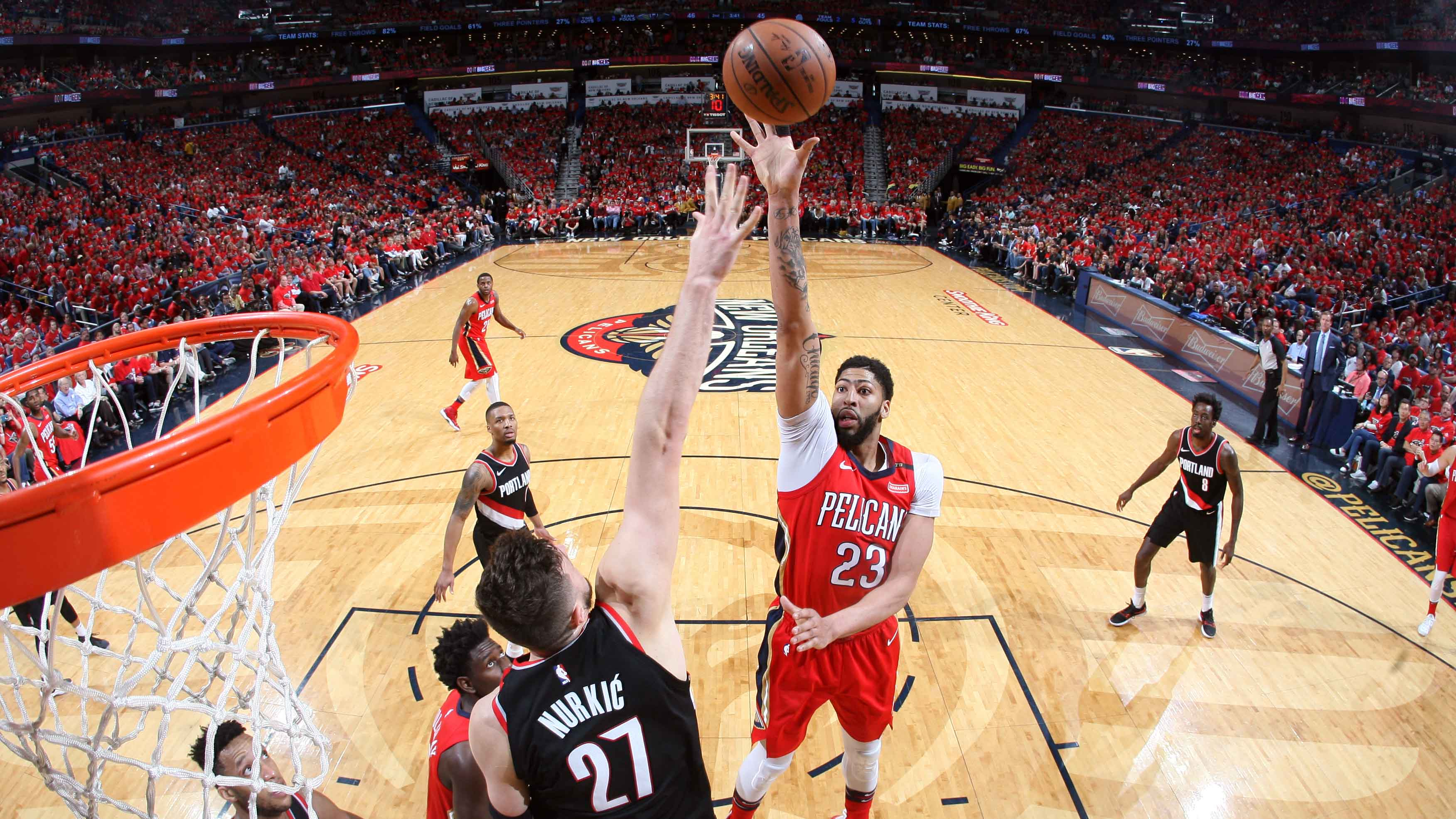 Game 4 Postgame Recap Pelicans 131 Trail Blazers 123 | New Orleans Pelicans