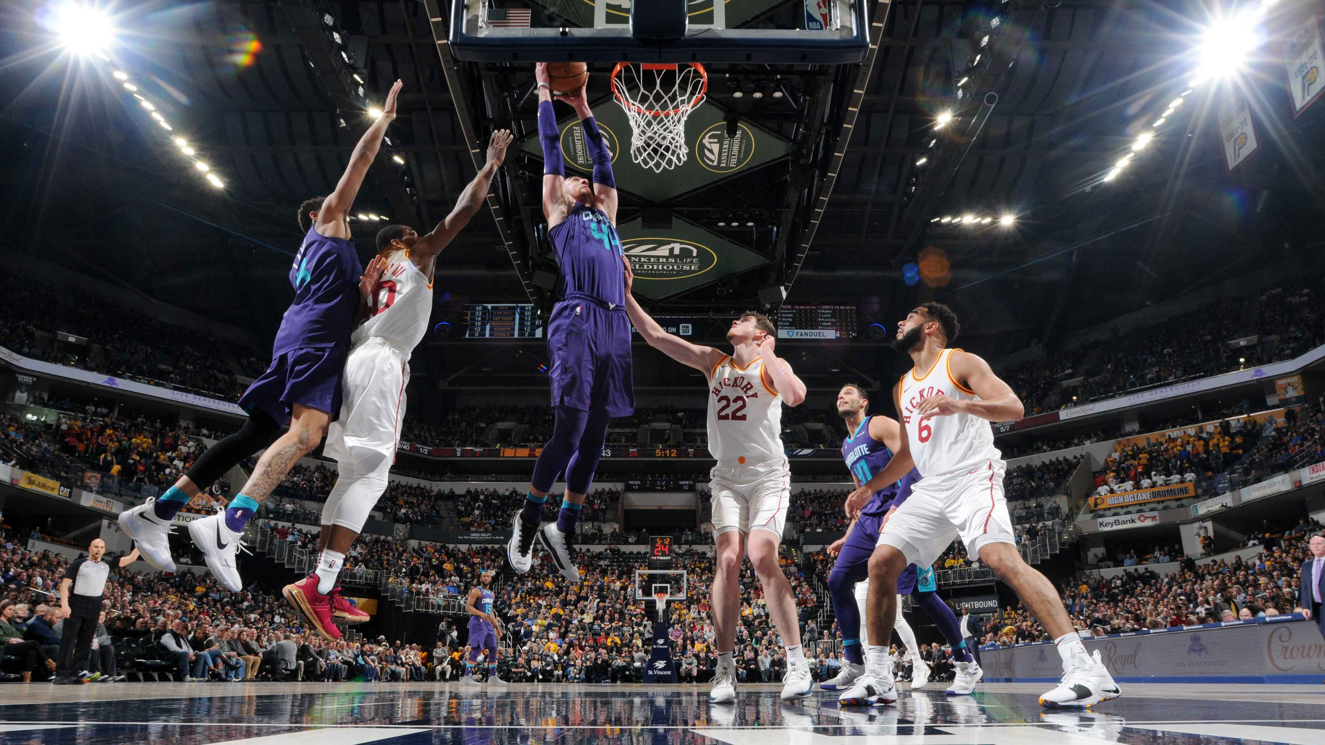 GAME RECAP: Hornets 119, Pacers 93