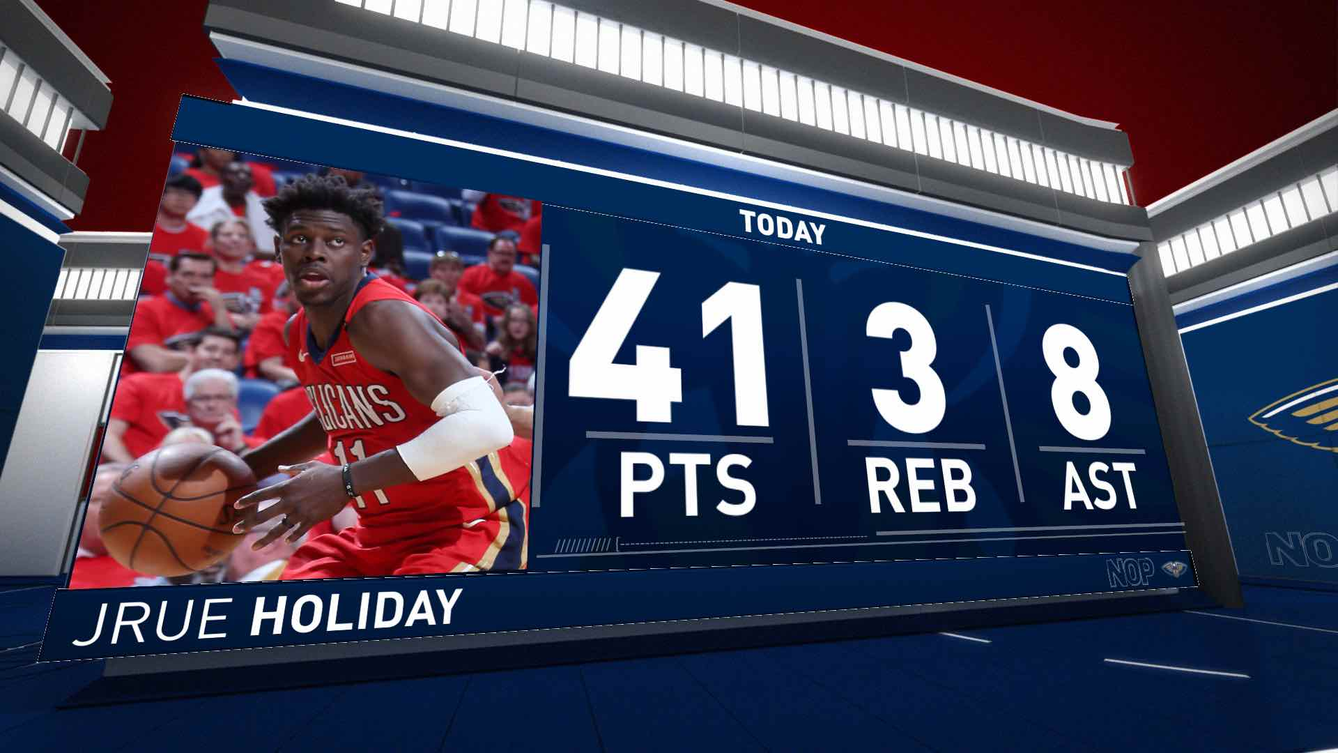 Jrue Holiday (41 points) Highlights vs. Portland Trail Blazers