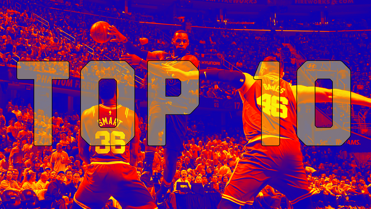 Top 10 Cavs/Warriors Plays From 2018 Playoffs