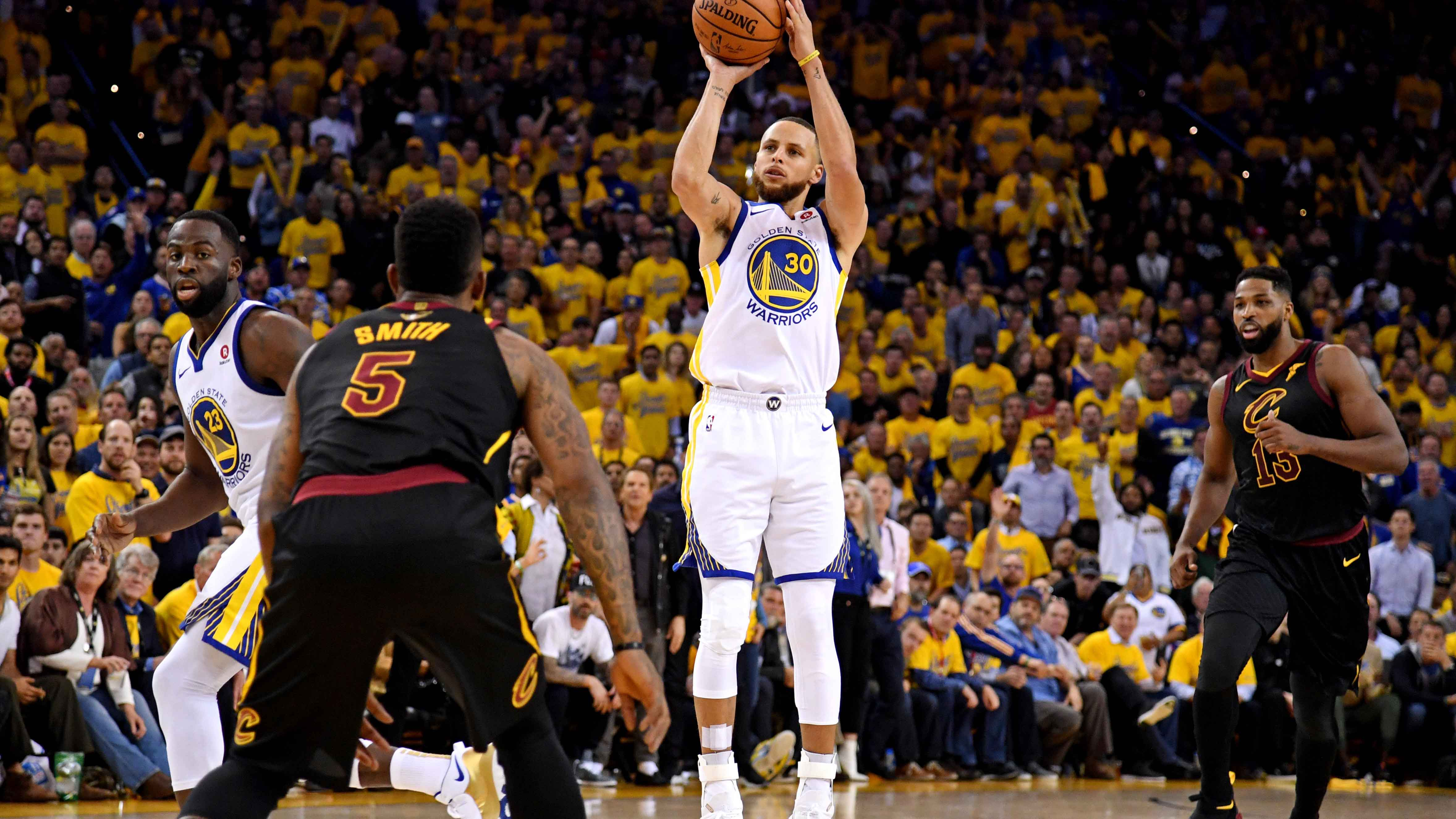 GAME 1 RECAP: Warriors 124, Cavaliers 114