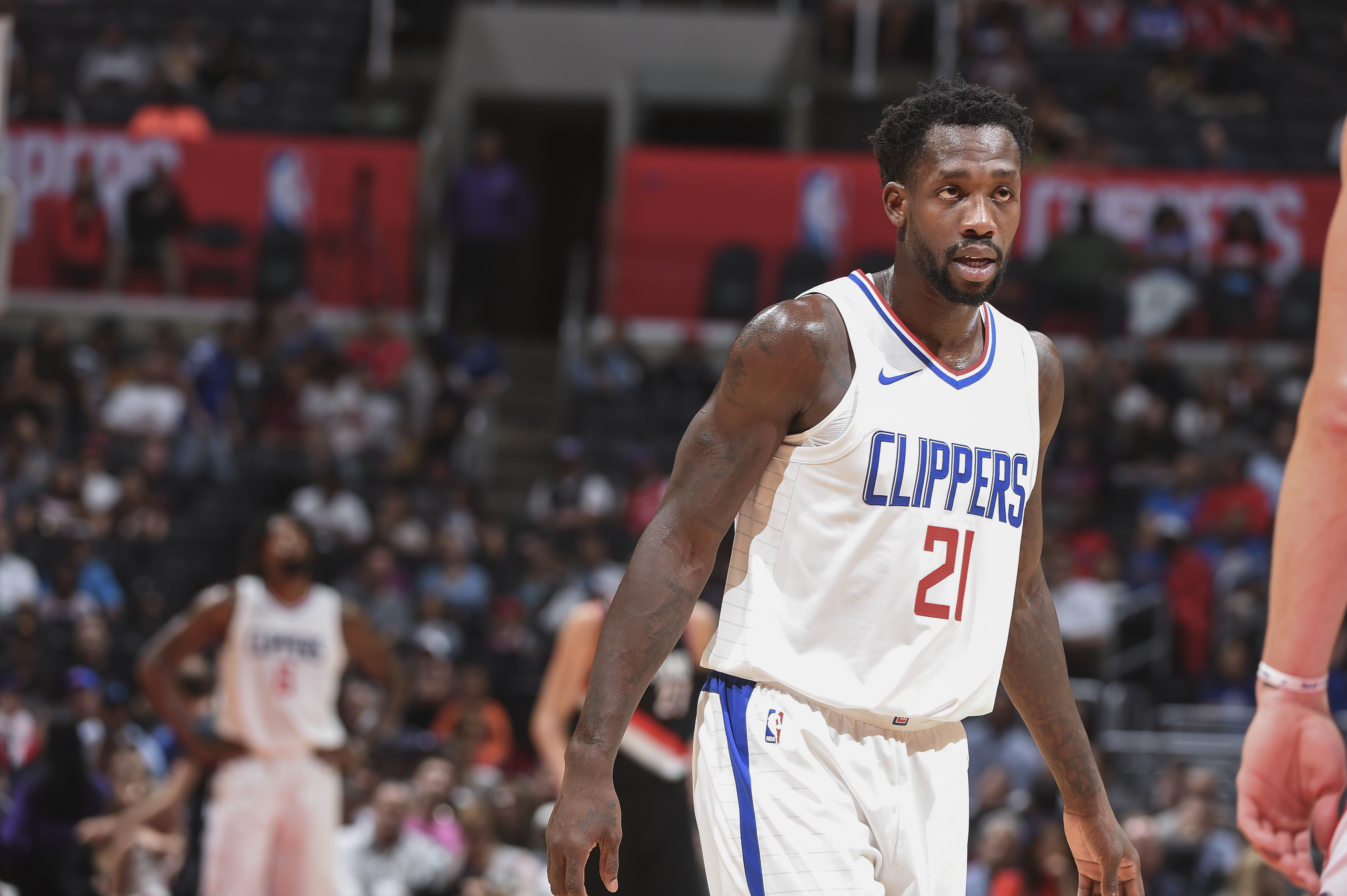 5e5605324 Report  Patrick Beverley (sore right knee) plans to return on Monday ...