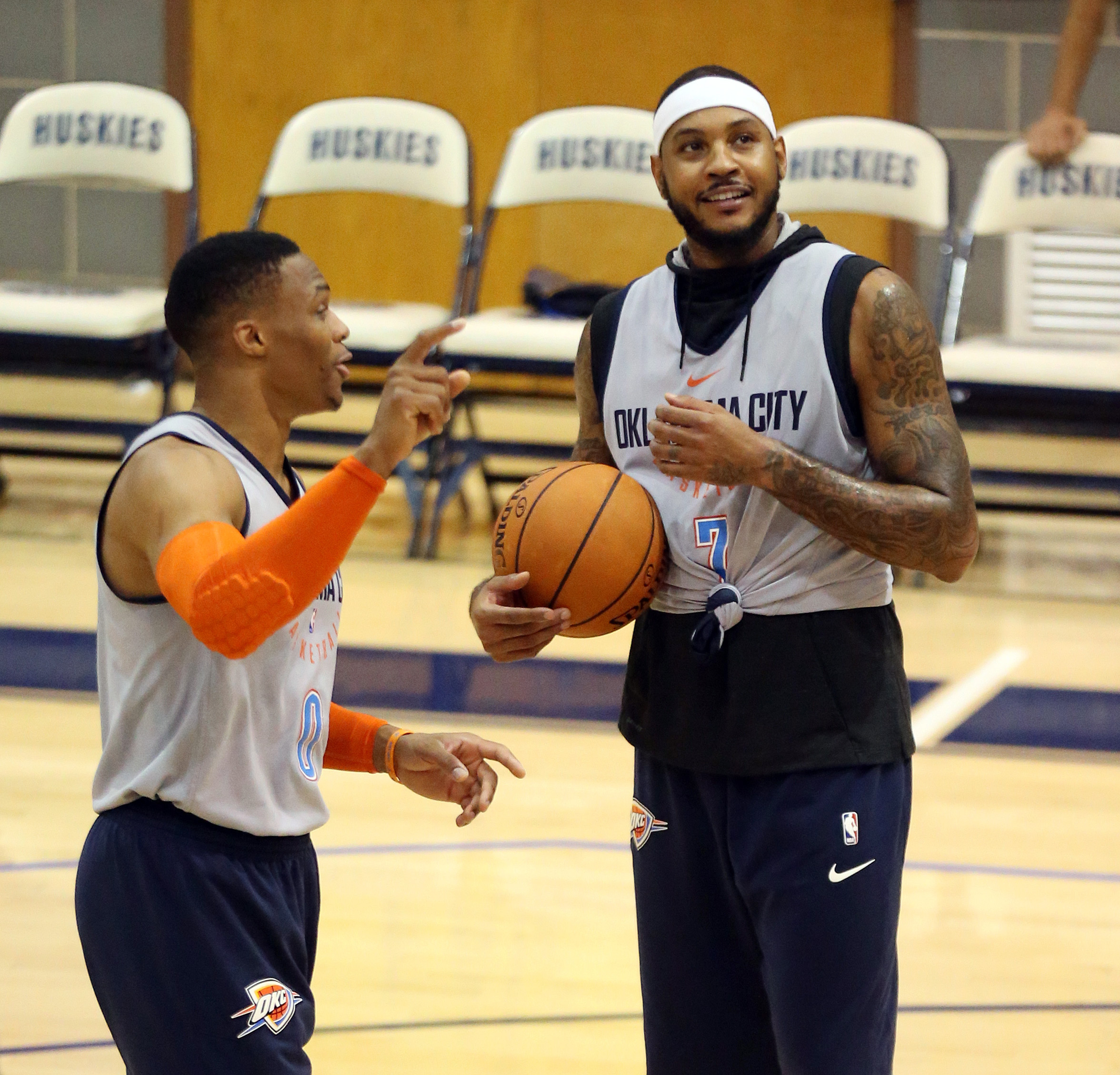 Westbrook-carmelo-thunder-scrimmage