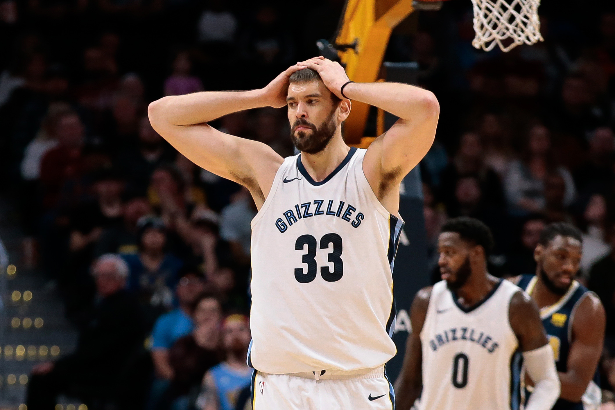 Memphis Grizzlies center Marc Gasol fined  15K  1ac8562d0