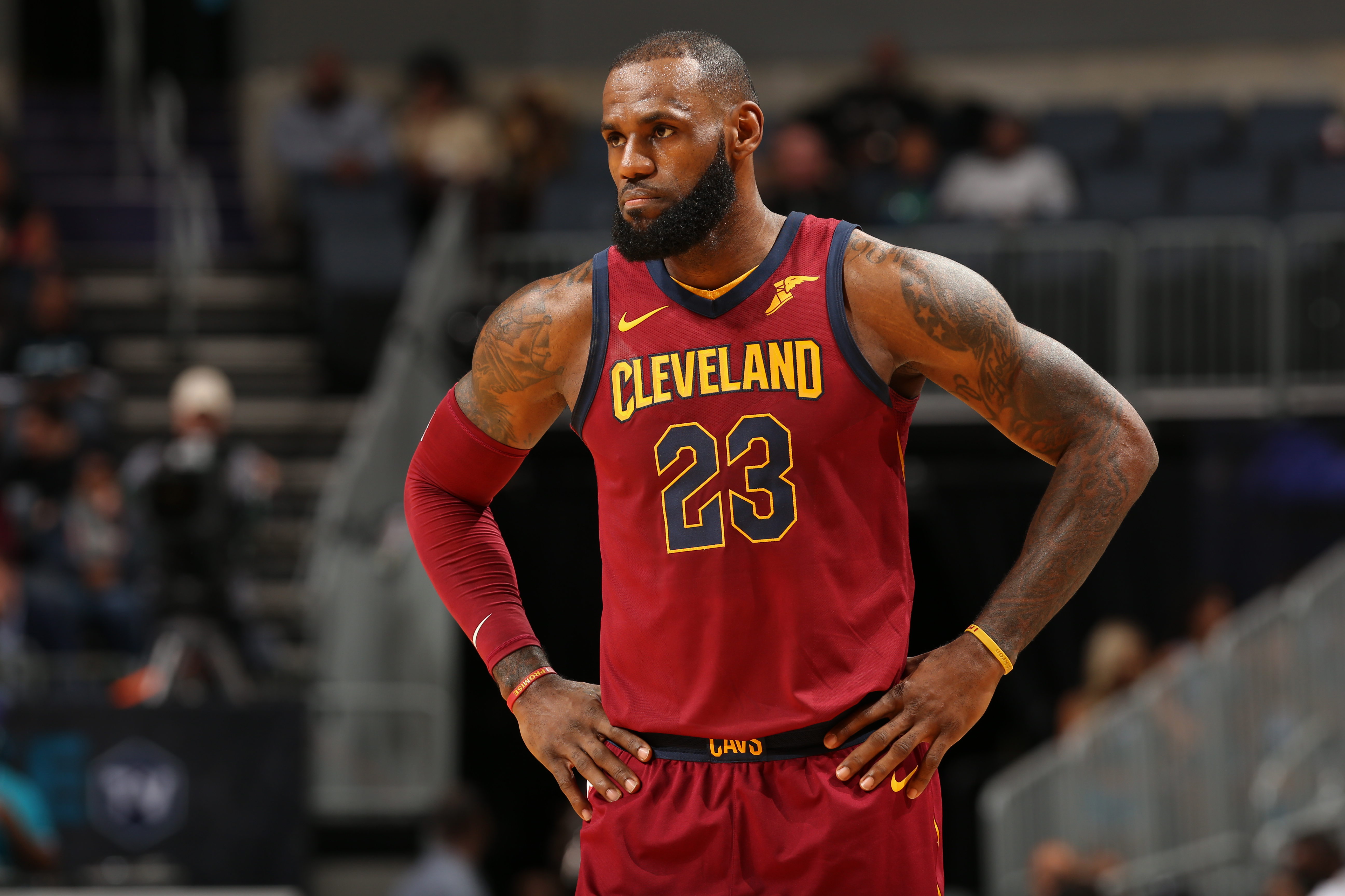 Guessing game  Cleveland Cavaliers enter NBA Draft unsure of LeBron James   plans  3e112825a