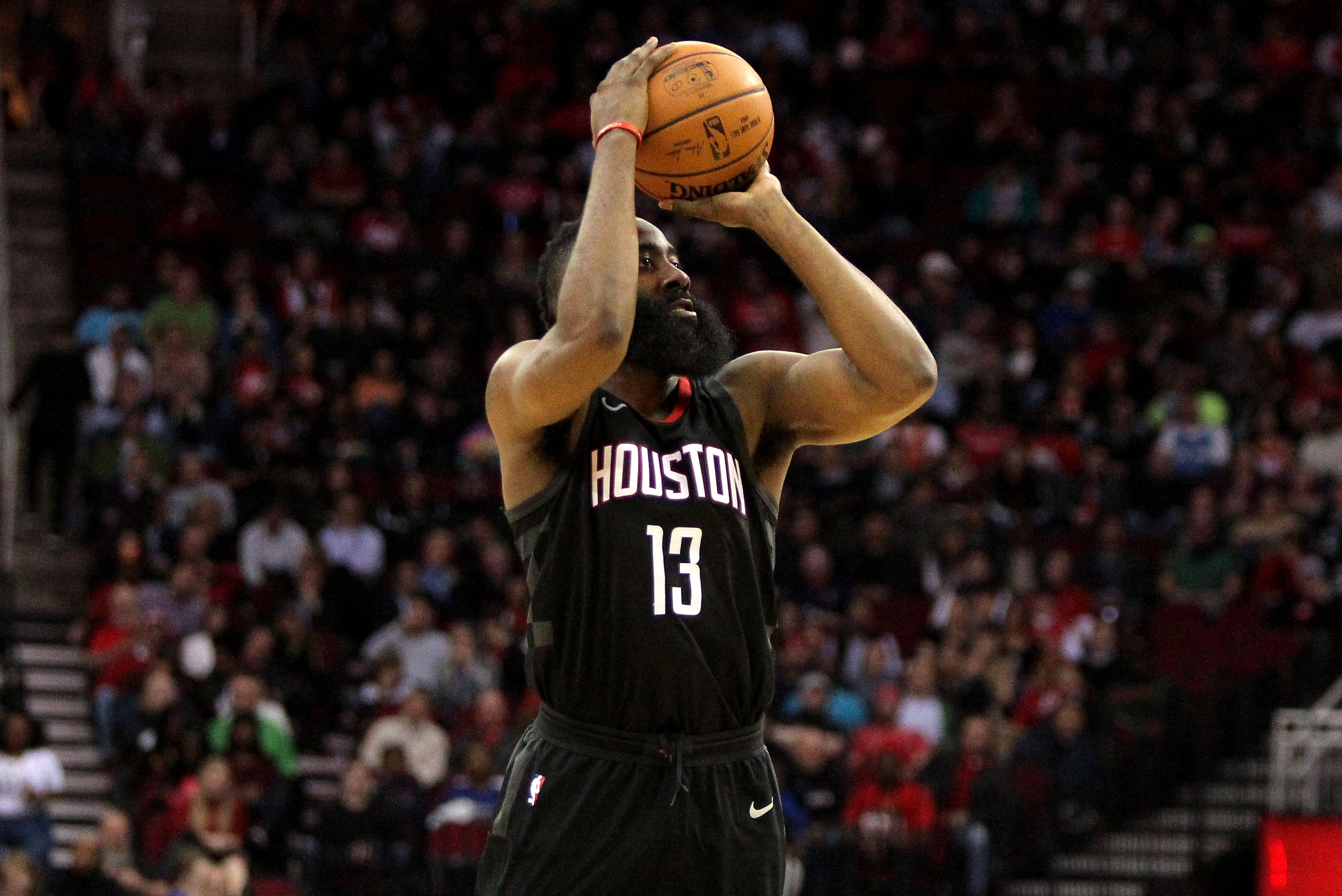 ee7f7a778f3 Five amazing stats from James Harden s historic 60-point game