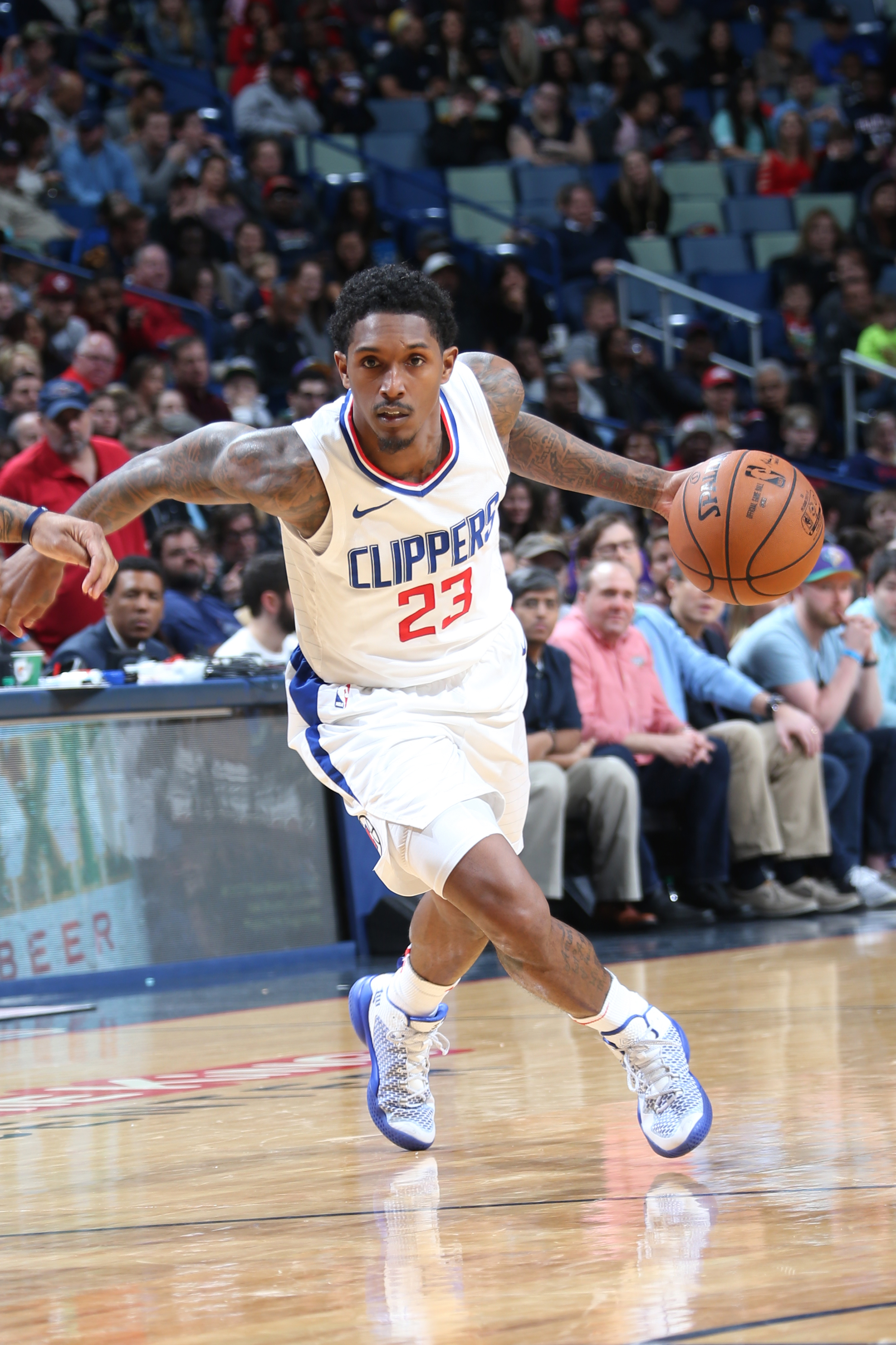 de37b6b55 Reports  Lou Williams agrees to three-year extension with LA Clippers
