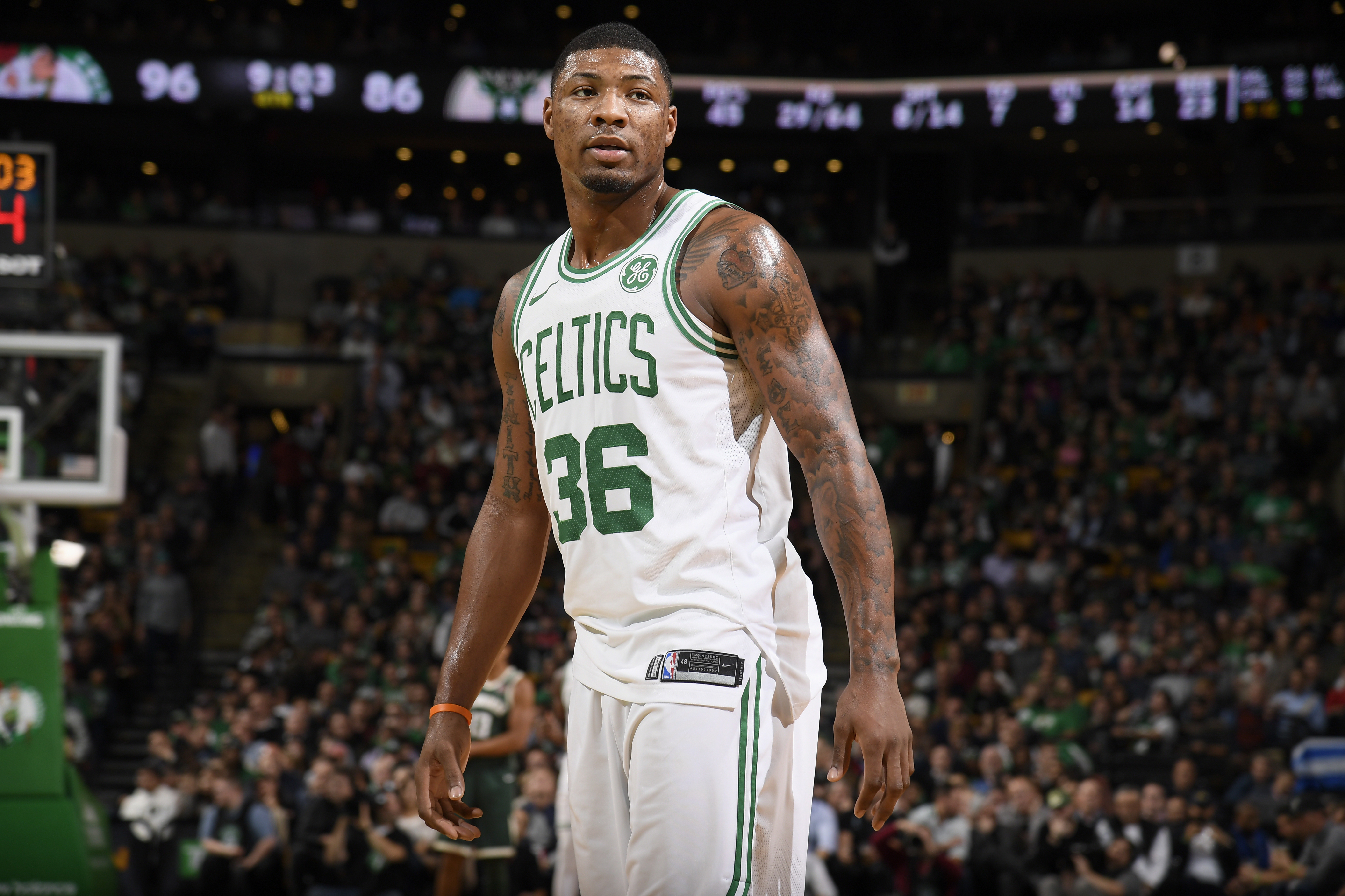 Marcus Smart Says He Has No Clue About Where He Stands With Boston Celtics Nba Com