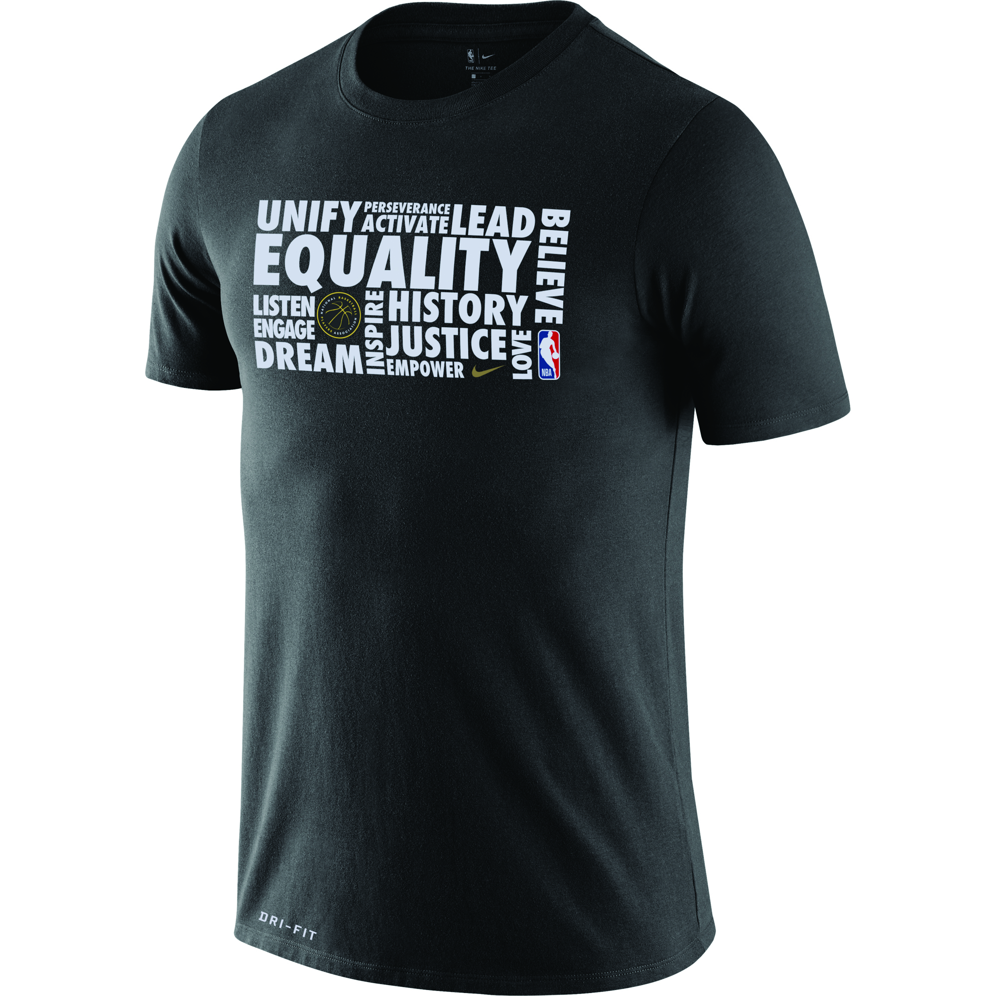 NBA and Nike Debut Black History Month Warmup Shirt with
