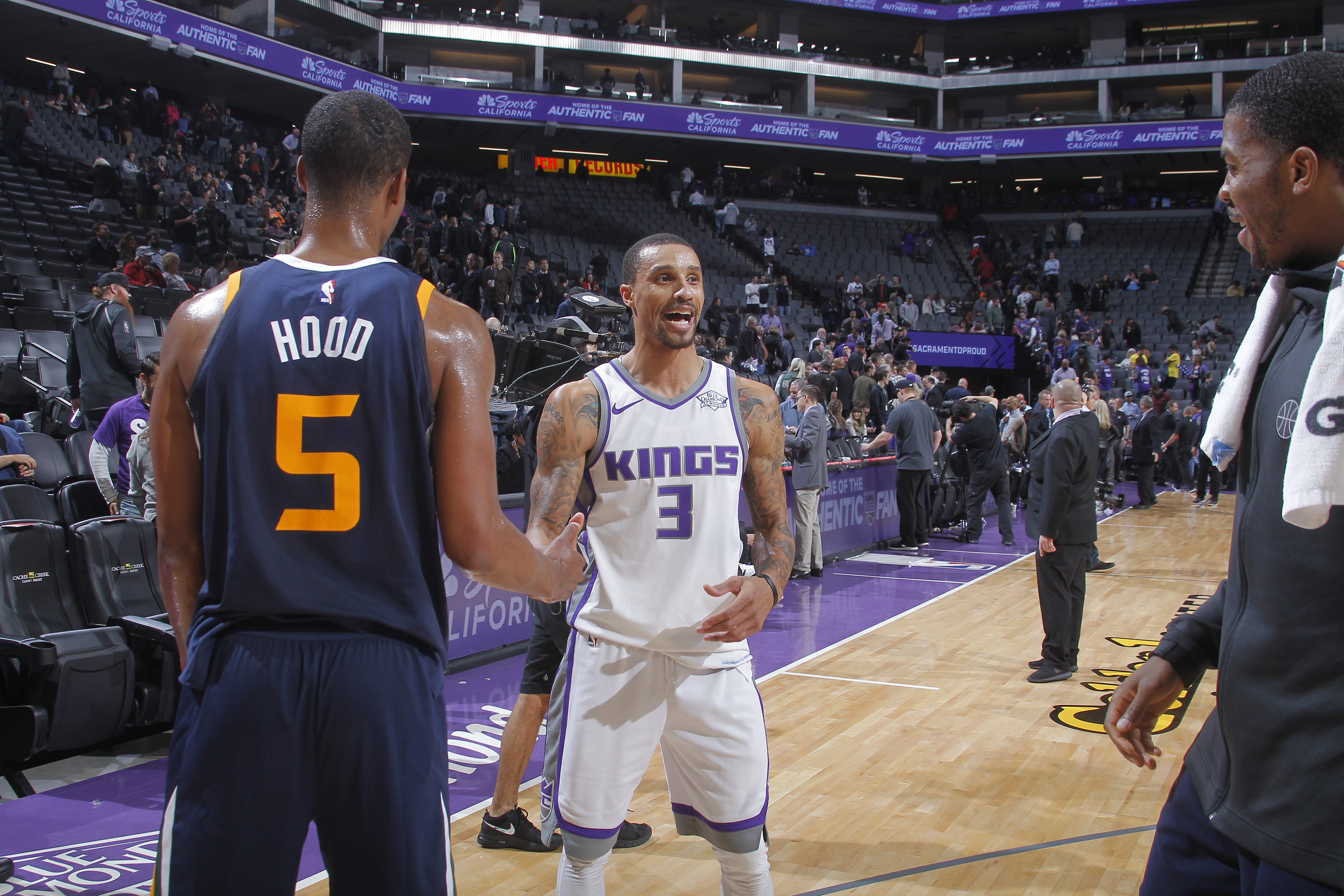 Cleveland Cavaliers Acquire George Hill Rodney Hood In Three Team