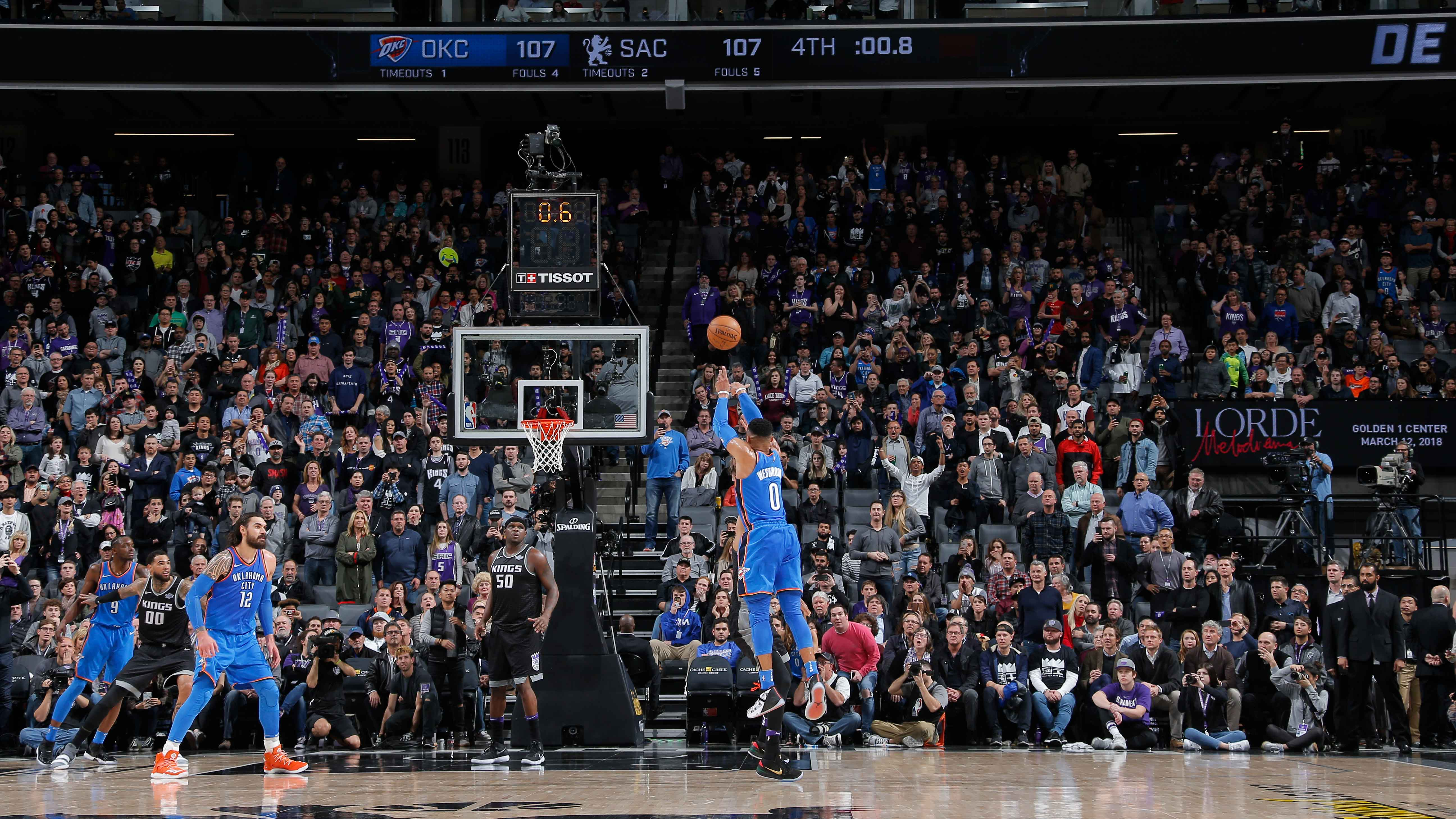Horry Scale: Oklahoma City's Russell Westbrook's buzzer-beater ...