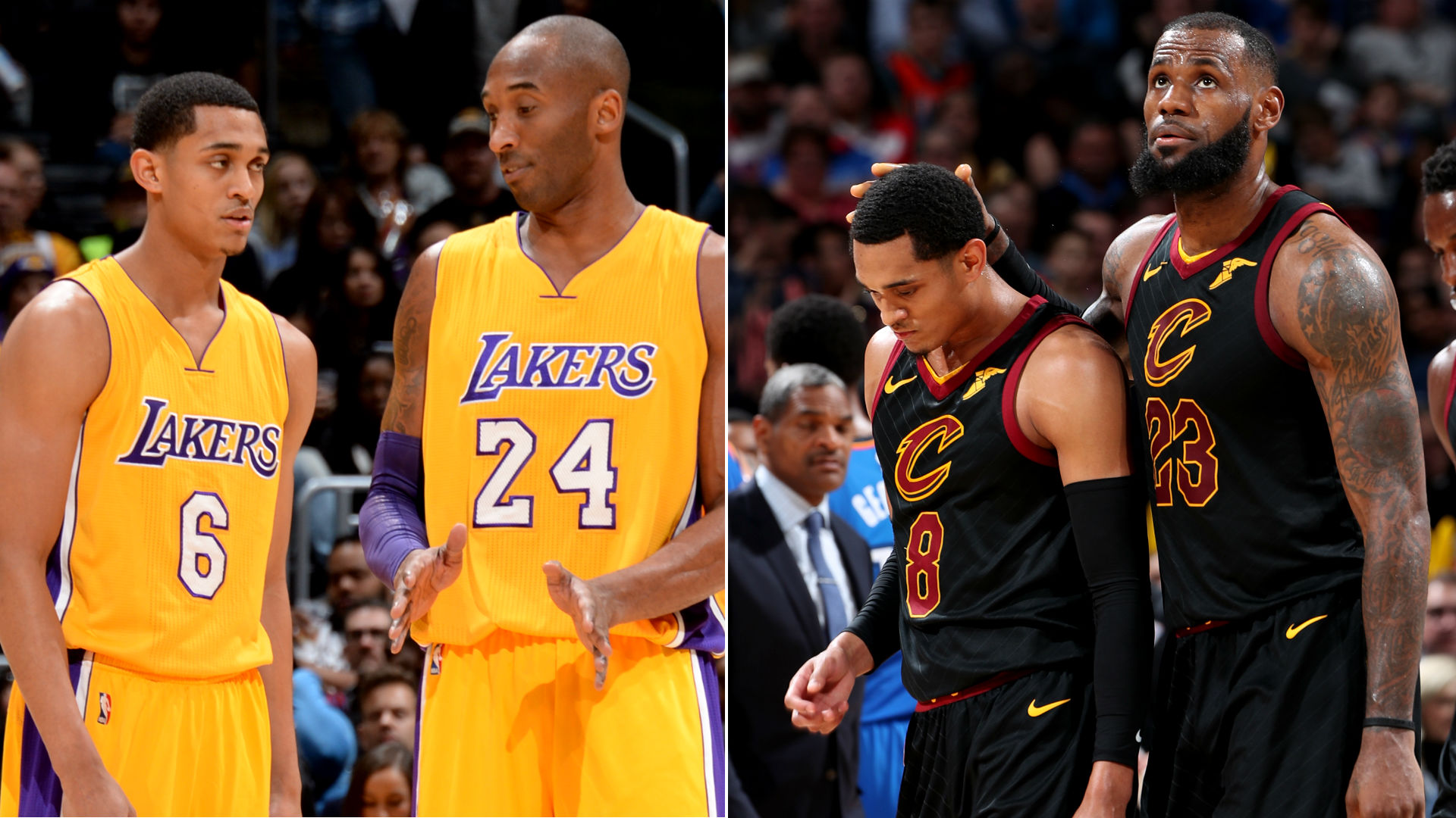 07d2a2a79152 Jordan Clarkson explains differences between Kobe Bryant s