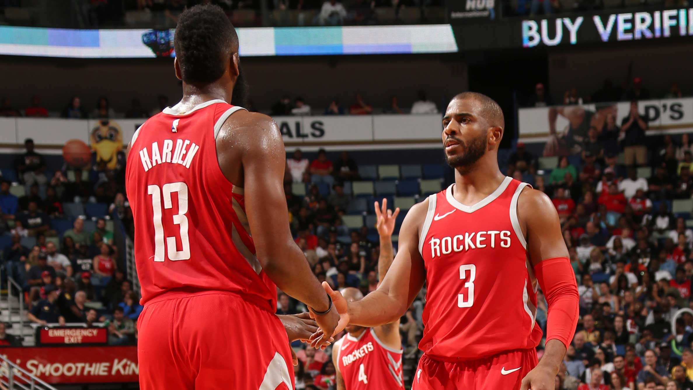 8efccd530f82 Houston Rockets  Chris Paul becomes 12th player in NBA history with ...