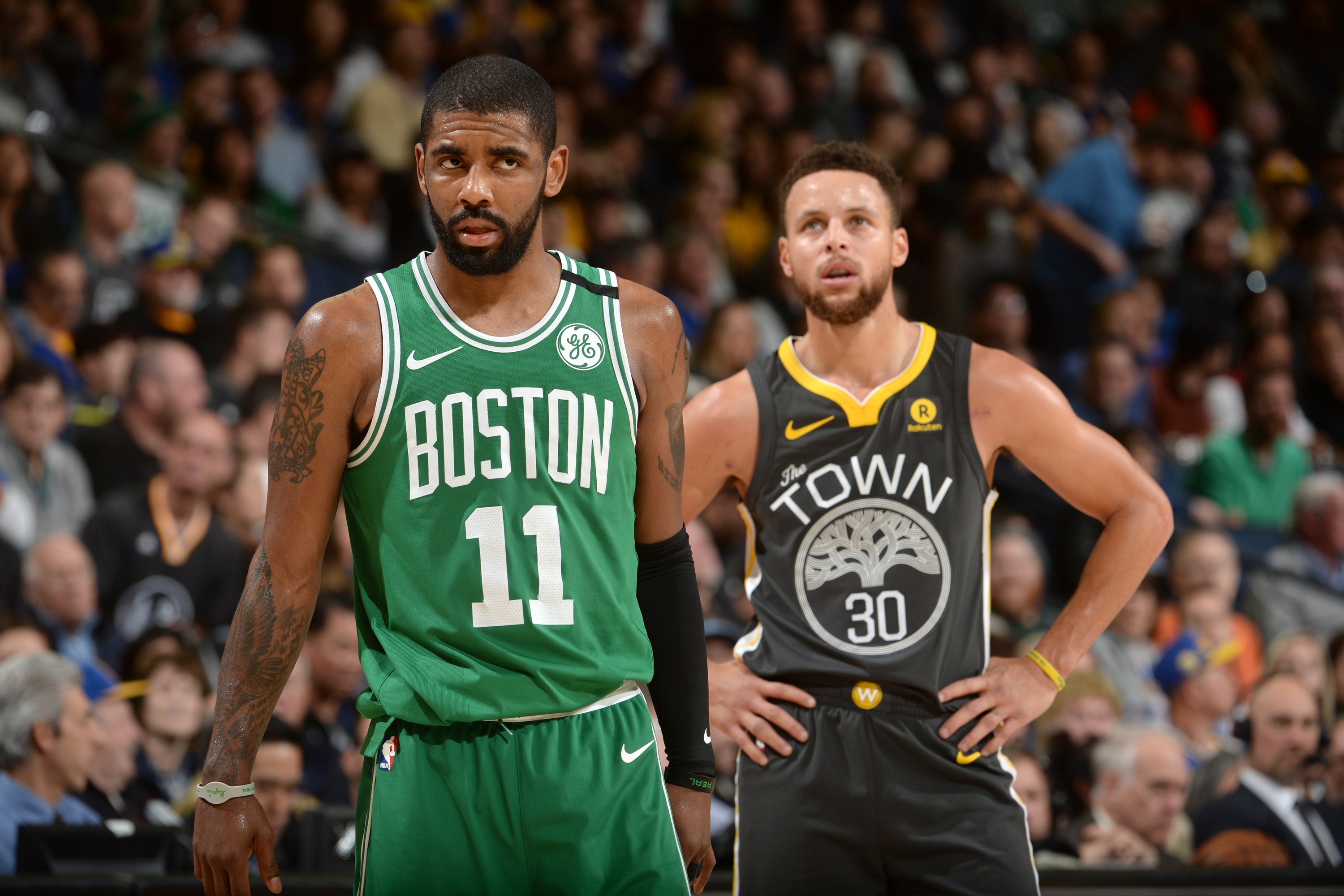 kyrie irving celtics can beat warriors in 7 game series nba com
