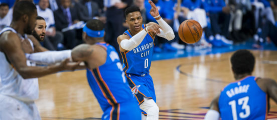 Russell Westbrook, Paul George