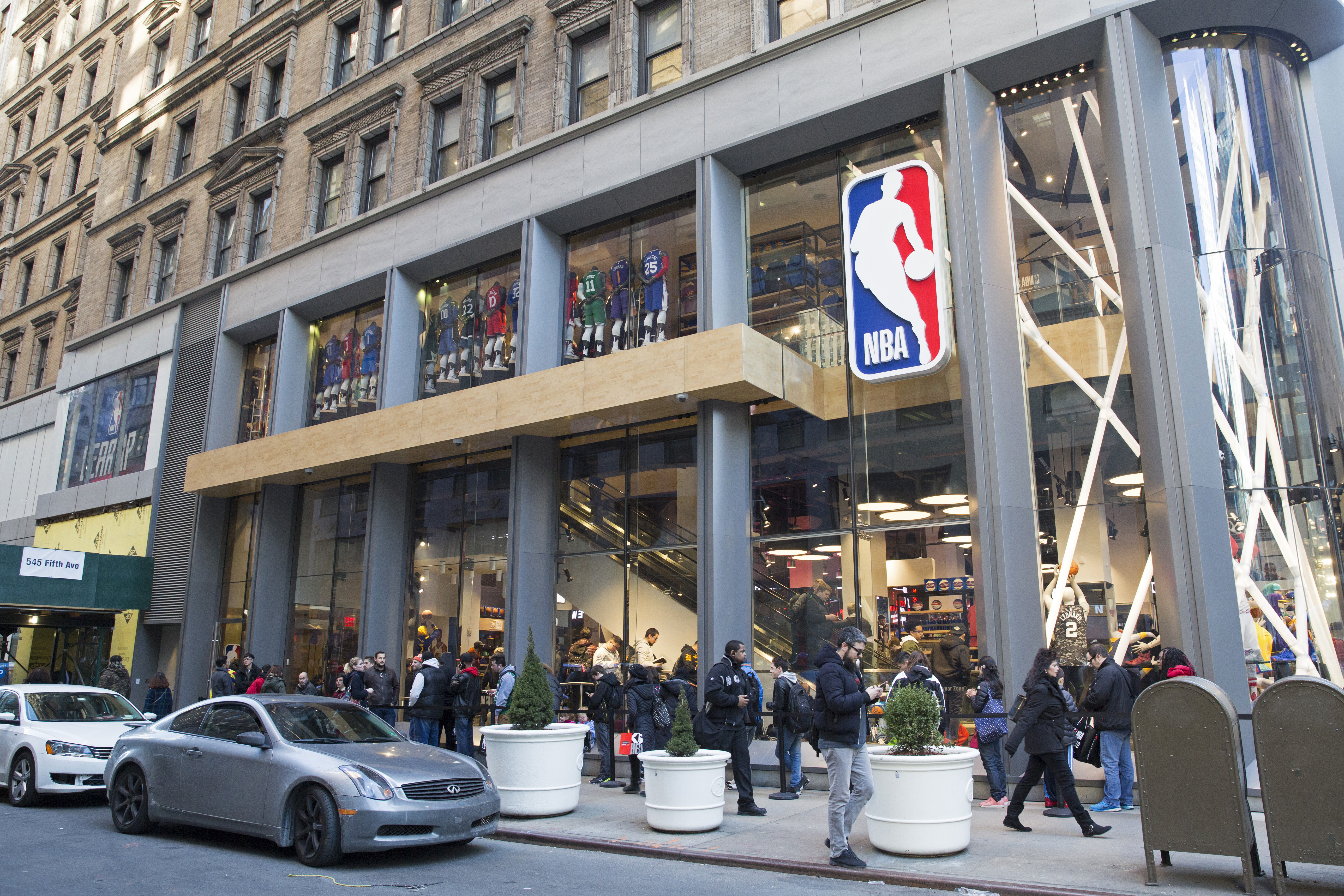a25b95af137 NBA Store in New York becomes world s first sensory-inclusive retail store
