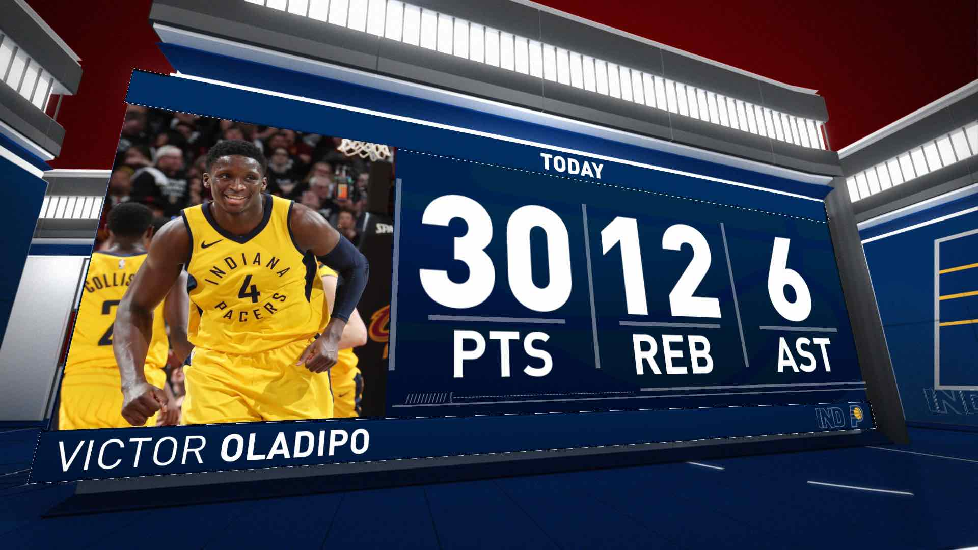 Victor Oladipo (30 points) Highlights vs. Cleveland Cavaliers
