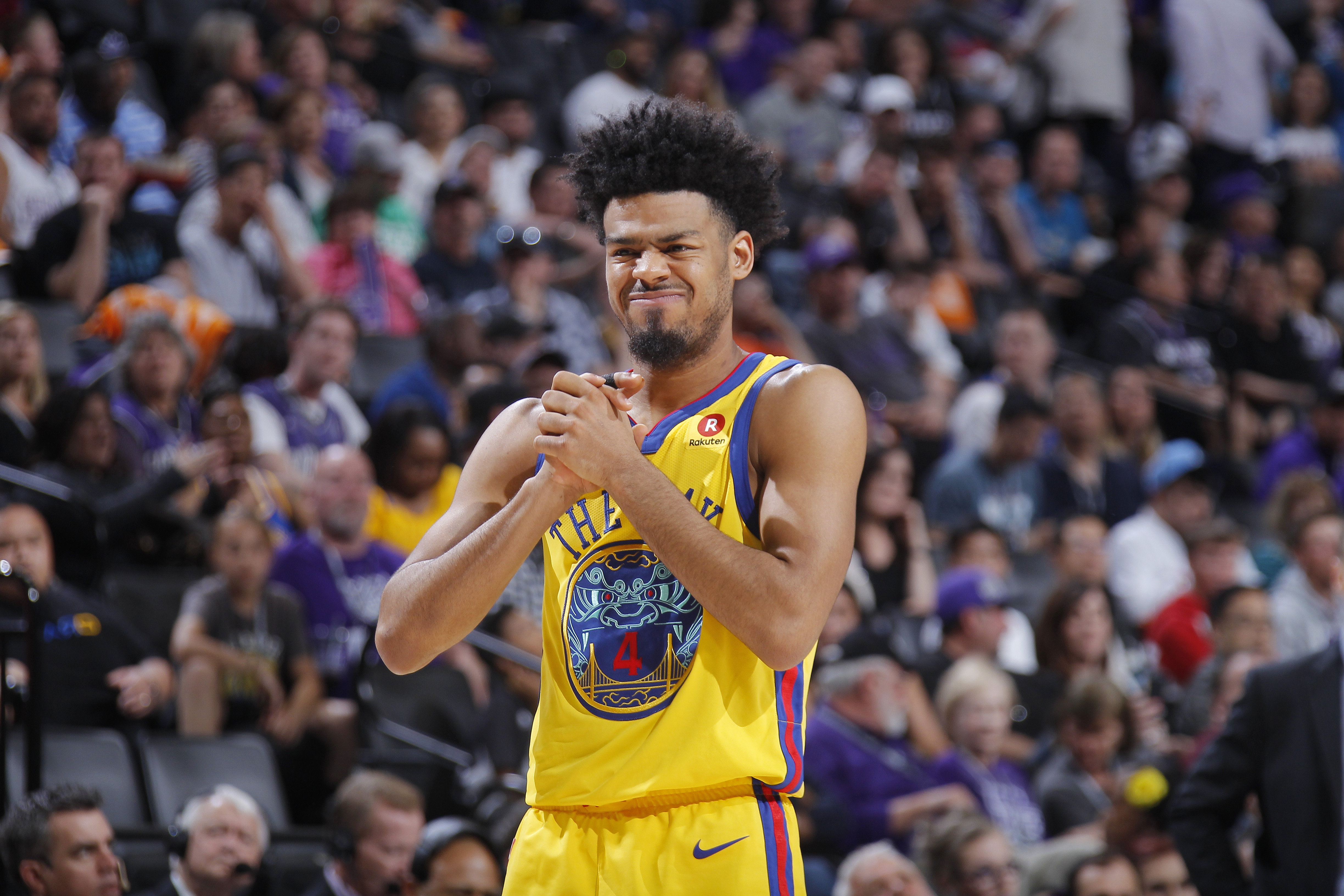 best website 0279a bbf03 Golden State Warriors reward fill-in guard Quinn Cook with ...