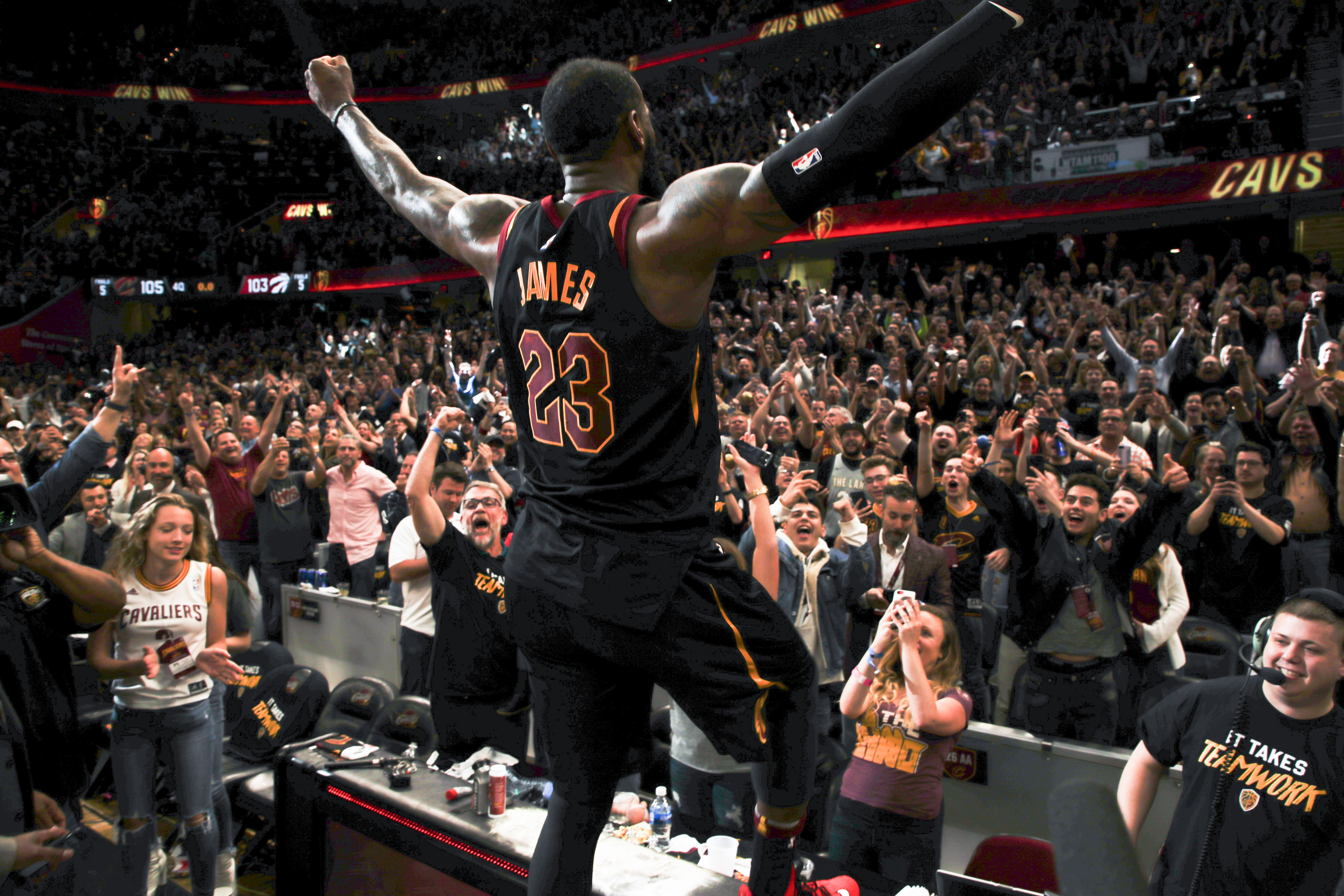 Road to 2018 Finals: Cleveland Cavaliers