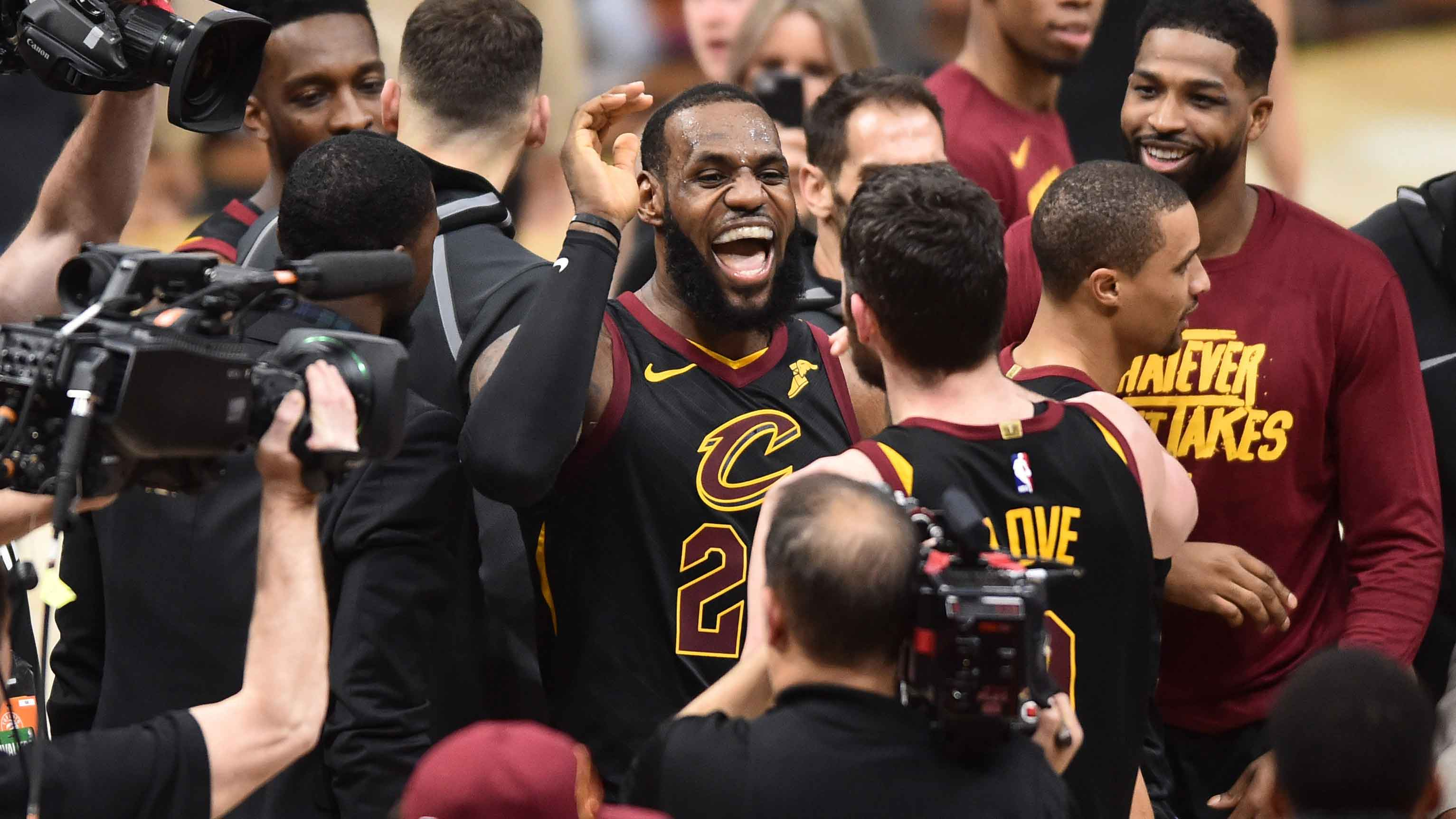 064b76ef9f LeBron's Buzzer-Beater Puts Raptors on the Brink | Cleveland Cavaliers
