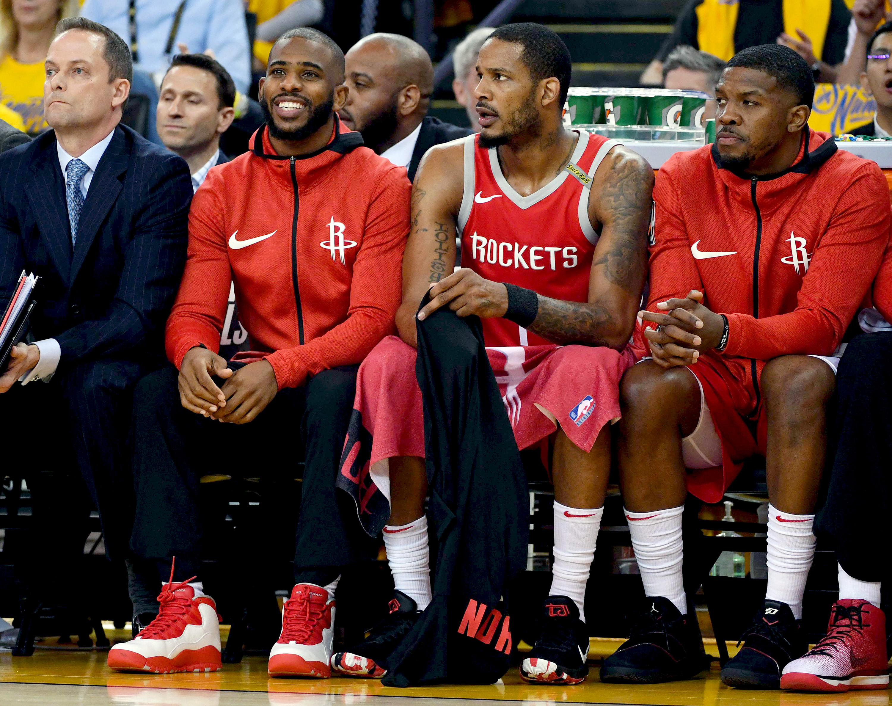 3619a3a16 Houston Rockets star Chris Paul  doubtful   Golden State Warriors to get  McCaw back