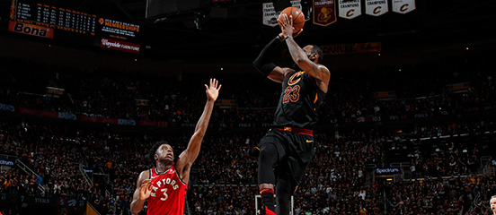 Game 3: Raptors vs. Cavaliers