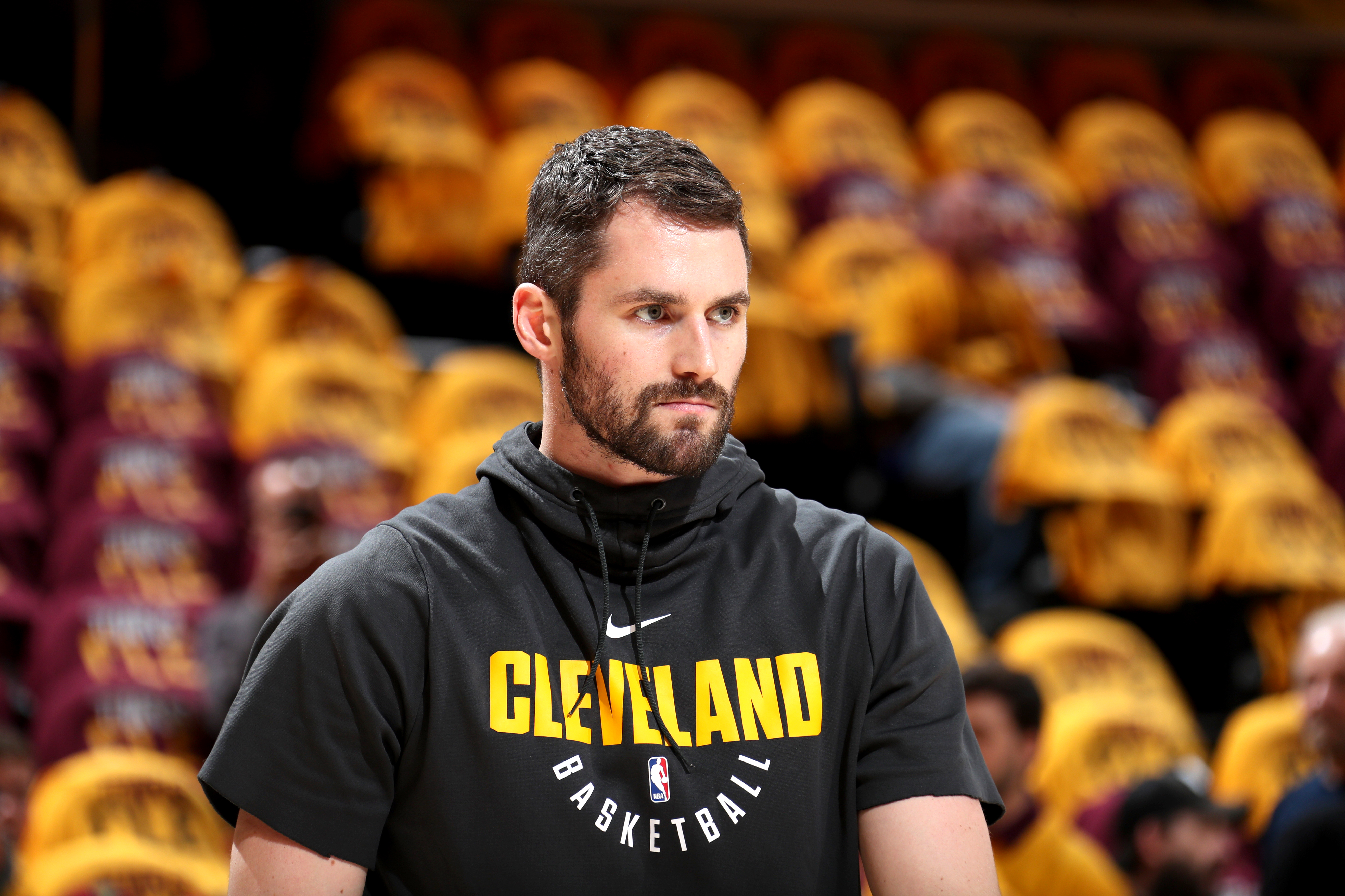 Cleveland Cavaliers Kevin Love Starts Game 1 Of Nba Finals Nba Com
