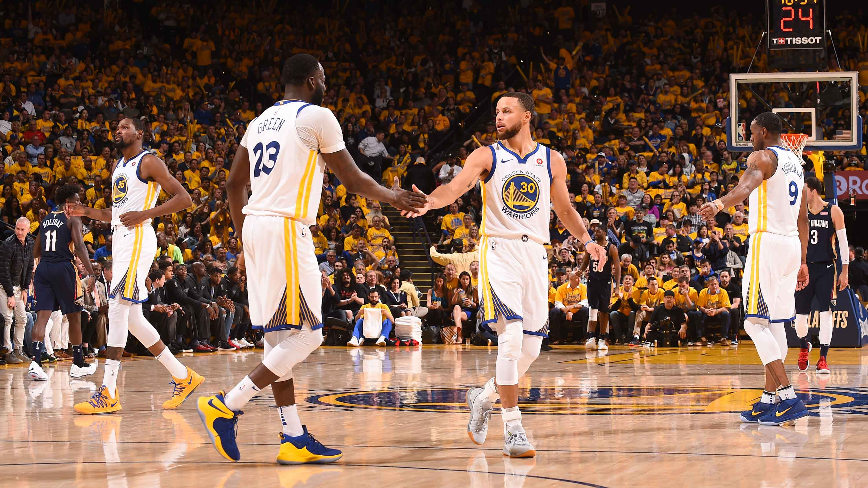 GAME 5 RECAP: Warriors 113, Pelicans 104