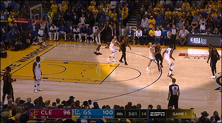 Cavaliers benchwarmer fires ominous warning at Steph Curry