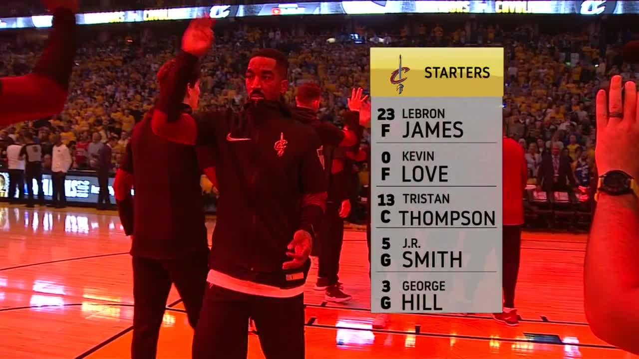 JR Smith receives loud ovation from Oracle  16165c948