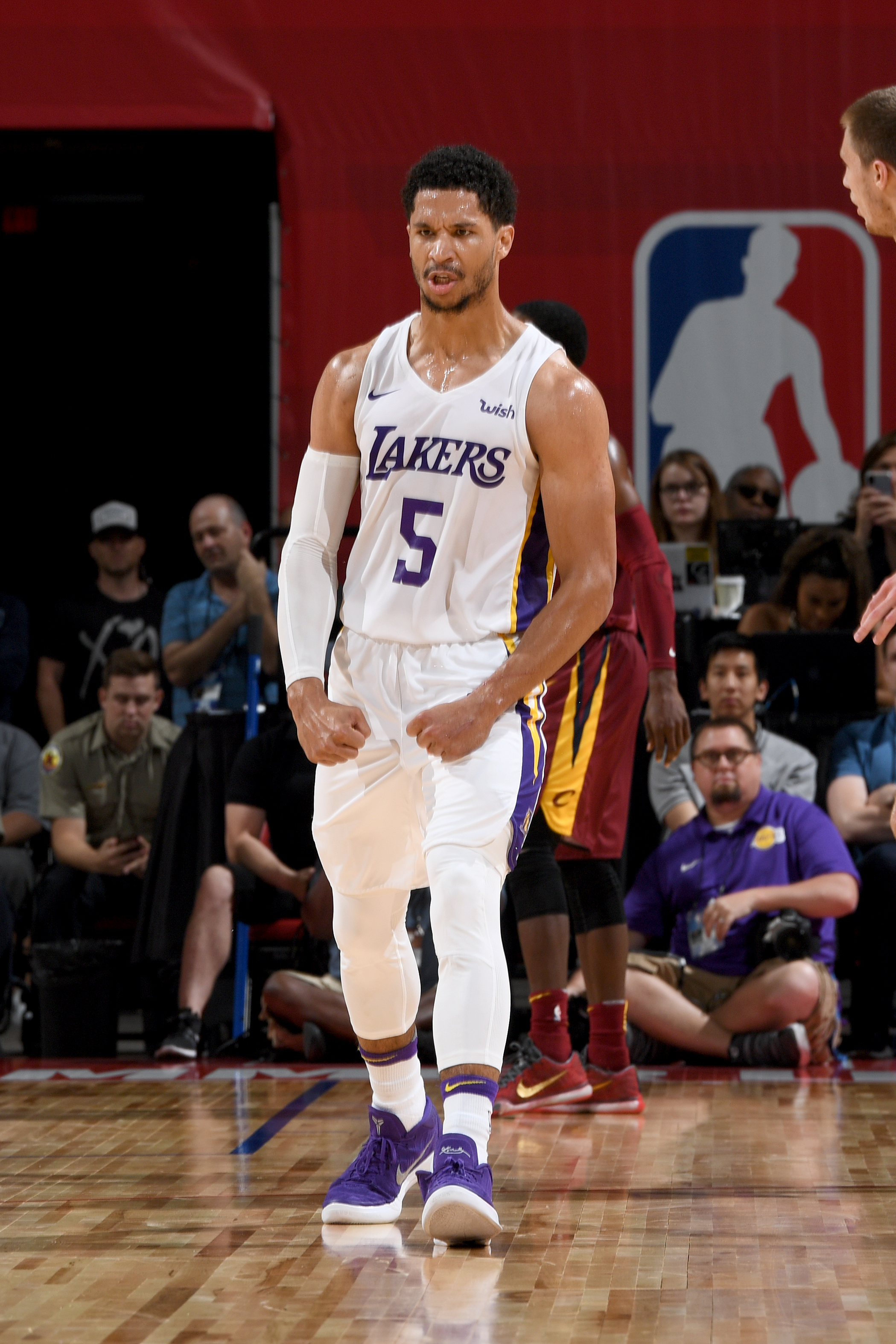 e885d46d8 Los Angeles Lakers  Josh Hart named Most Valuable Player of 2018 NBA Summer  League
