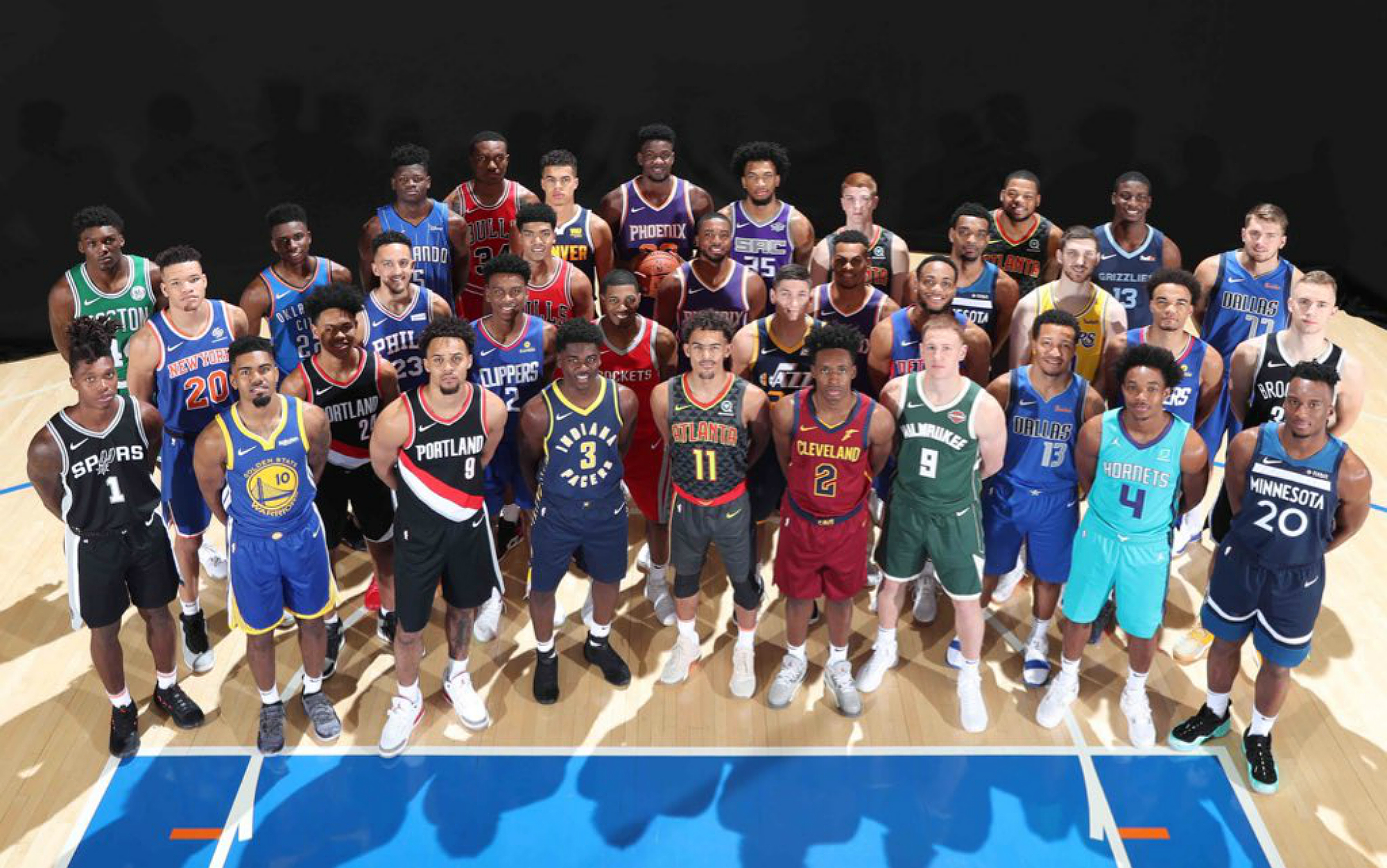 b6b4a849d7b7 Best from 2018 NBA Rookie Photo Shoot