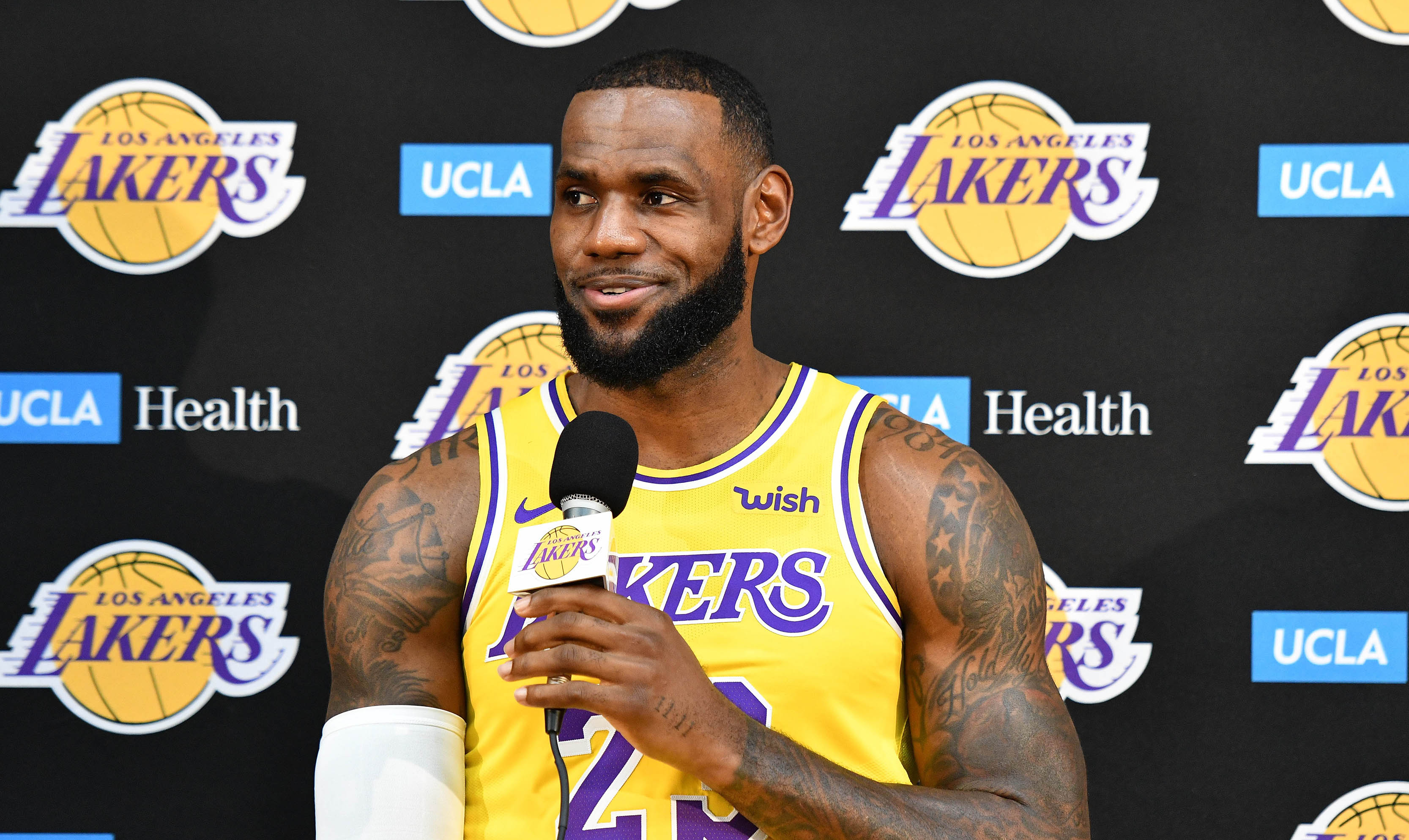 3d0d60e9fb5 LeBron James says Los Angeles Lakers don t need title for success this  season