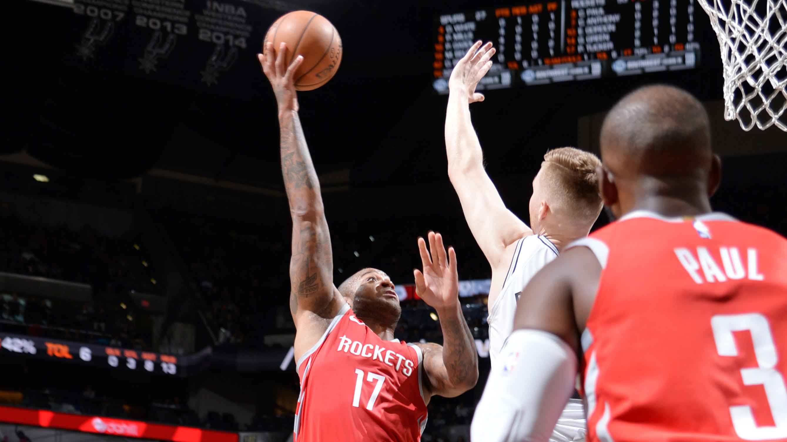 GAME RECAP: Rockets 108, Spurs 93