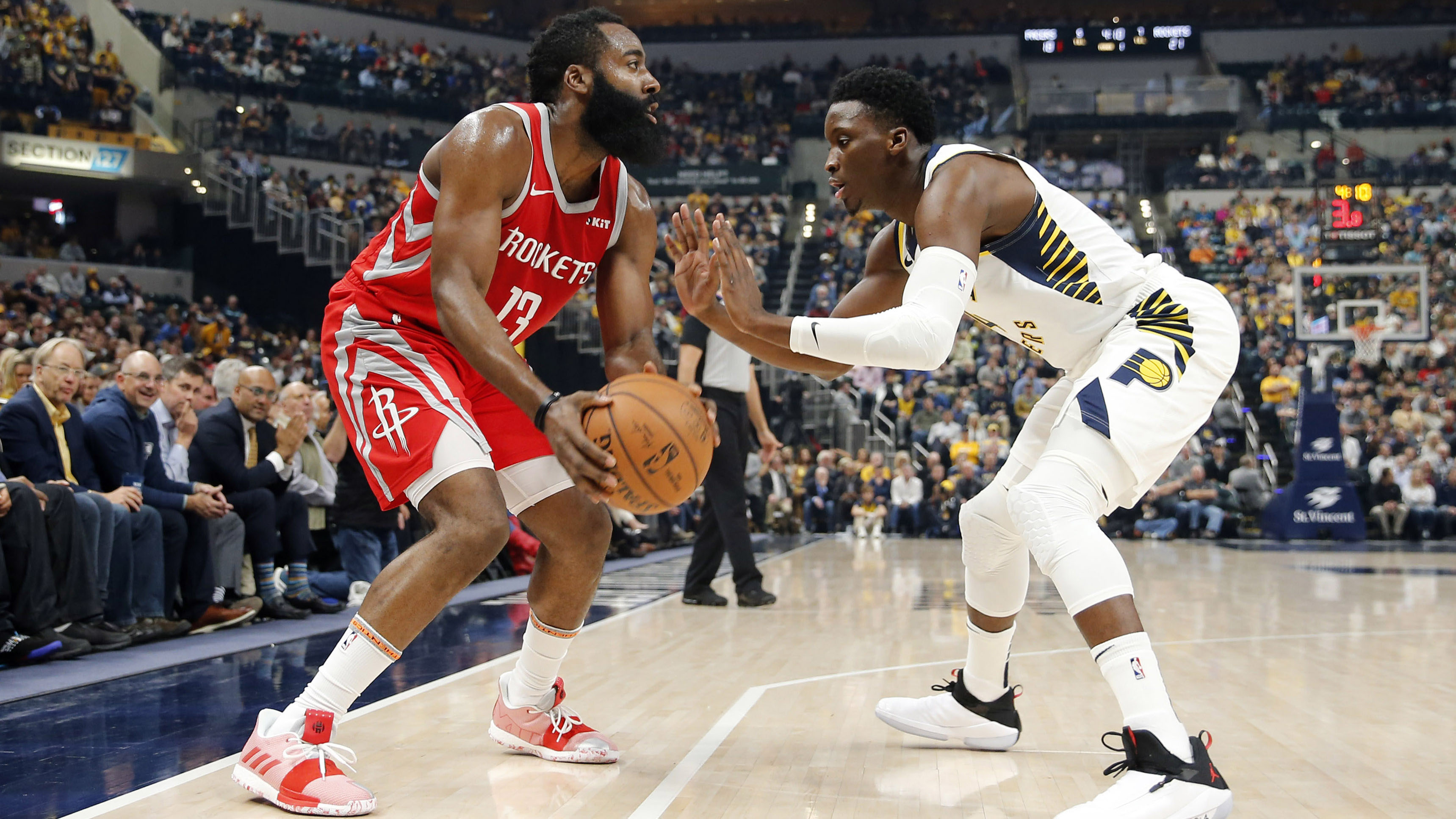 GAME RECAP: Rockets 98, Pacers 94