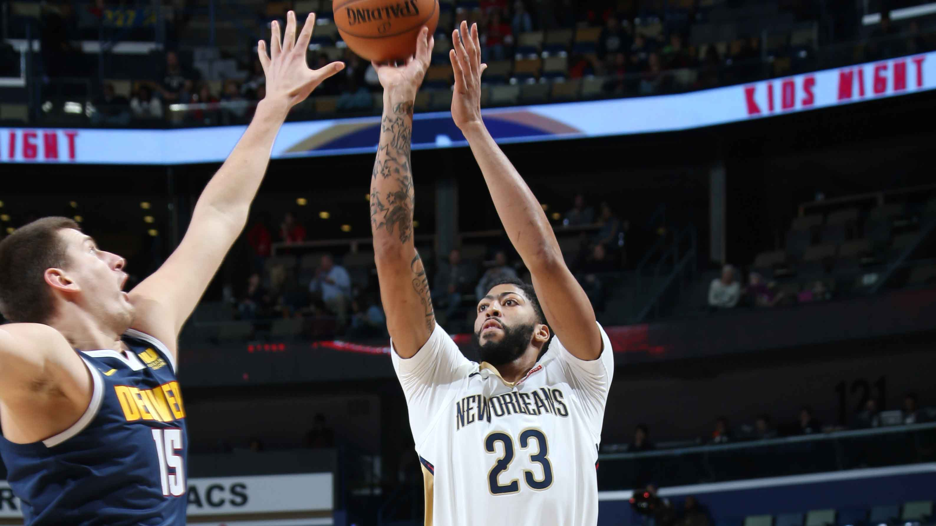 GAME RECAP: Pelicans 125, Nuggets 115