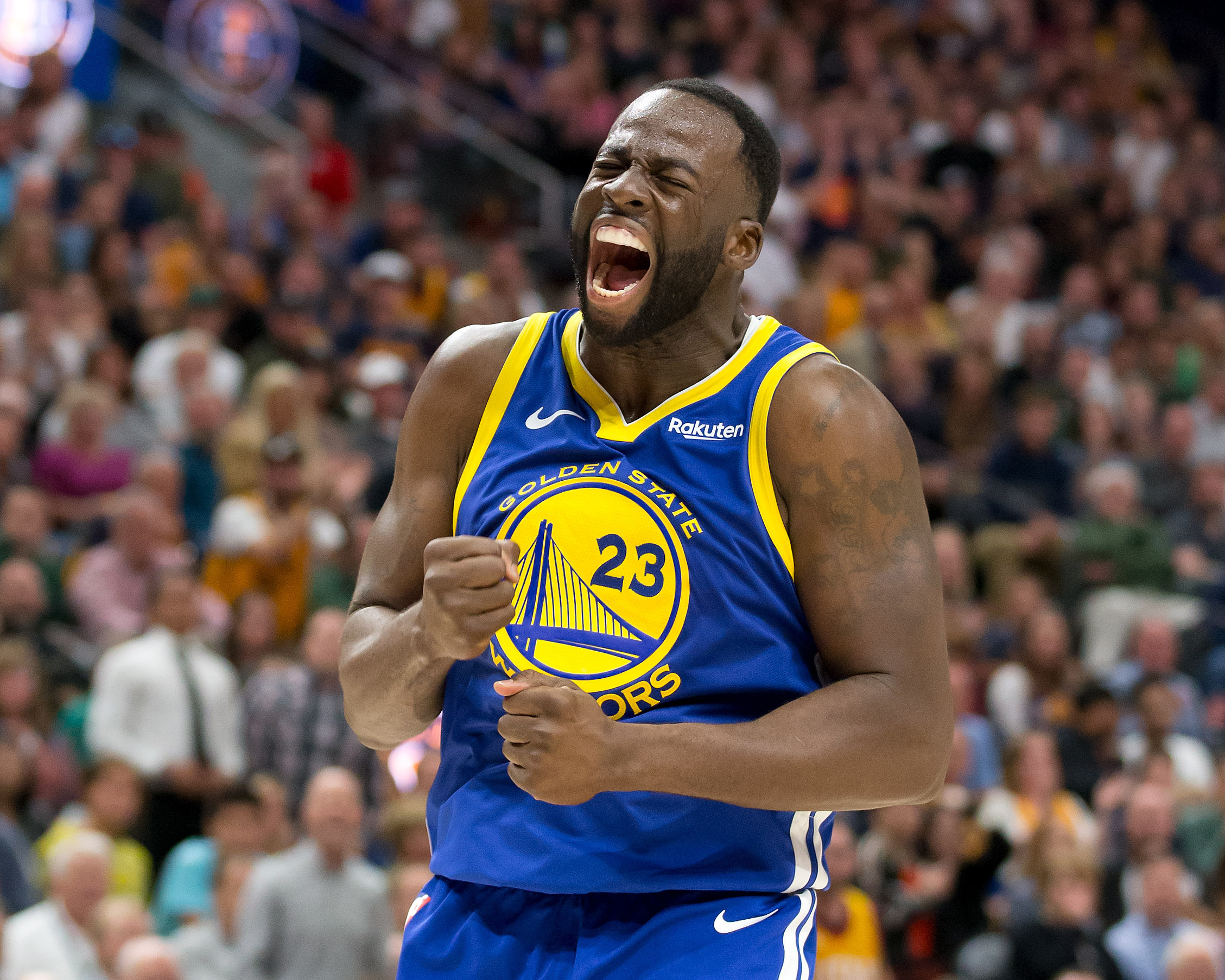 5a71fe8c1bb Draymond Green suspended after altercation with Kevin Durant reportedly  spills into locker room