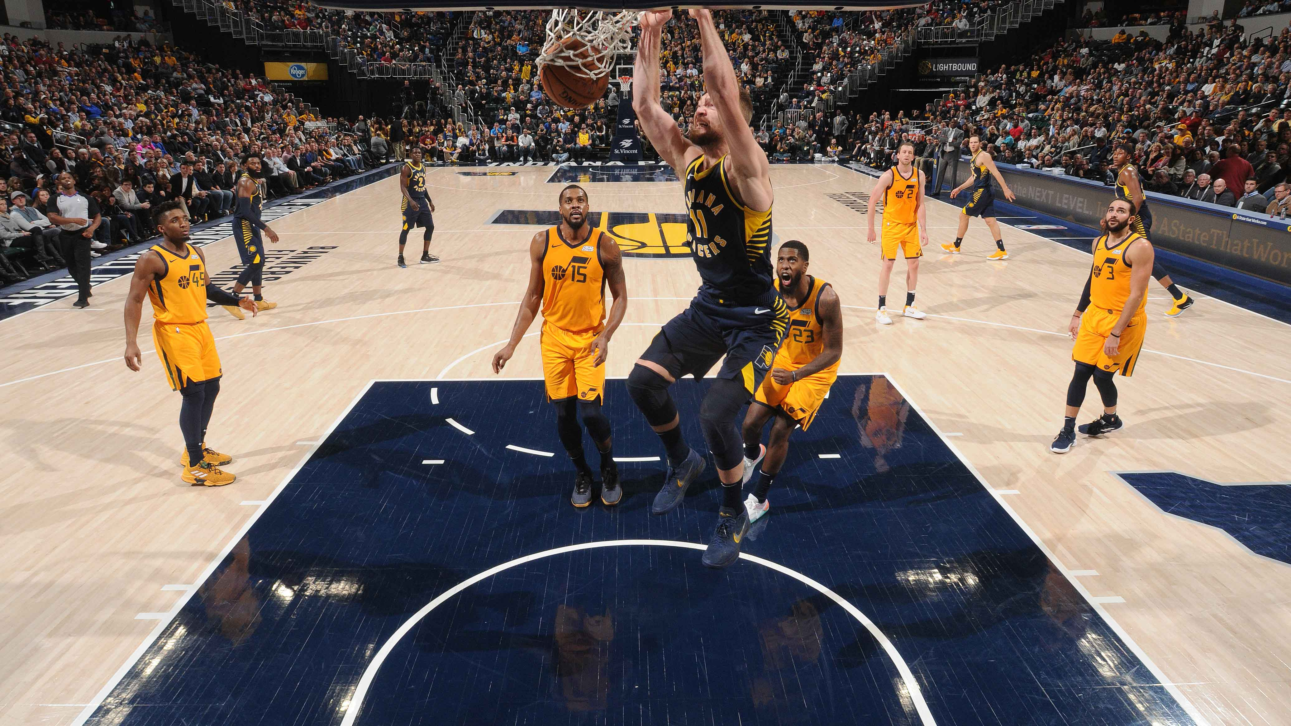 GAME RECAP: Pacers 121, Jazz 94