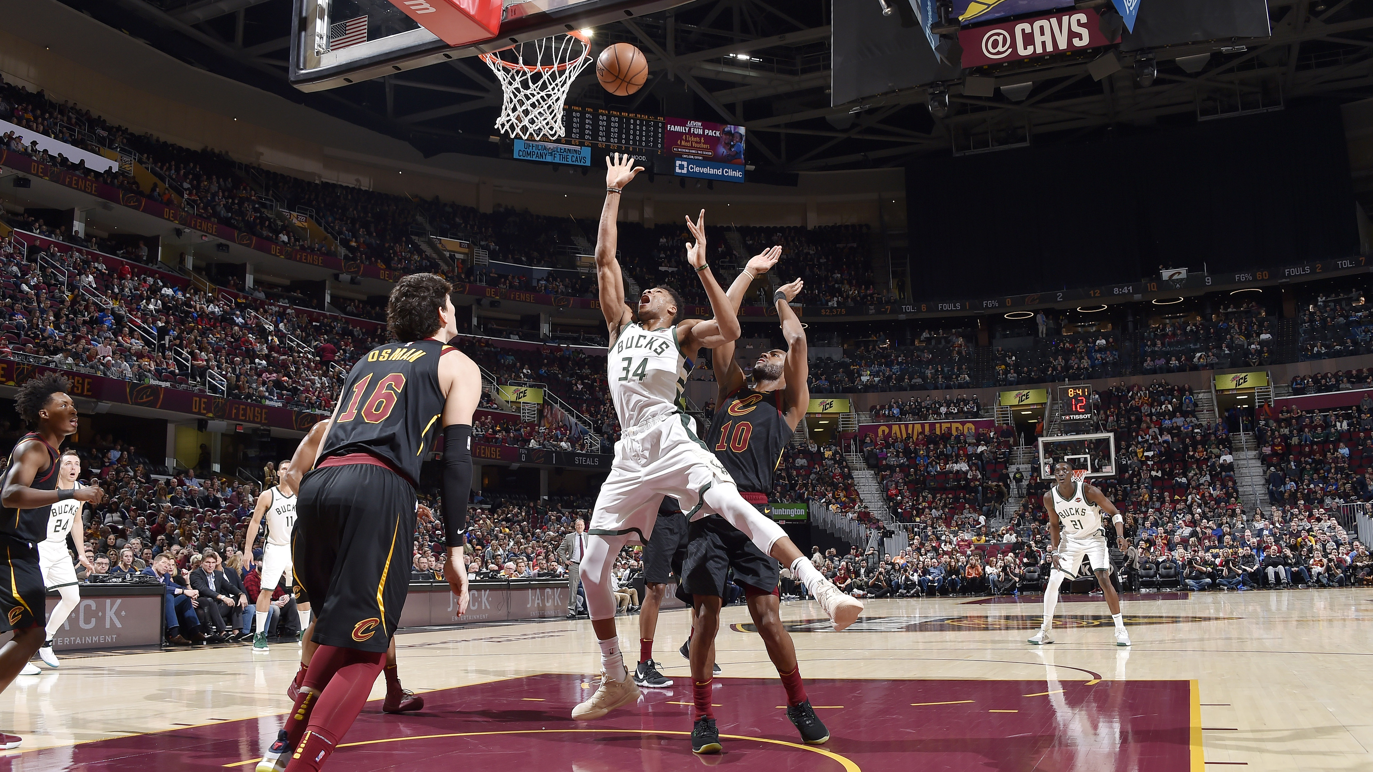 GAME RECAP: Bucks 114, Cavaliers 102