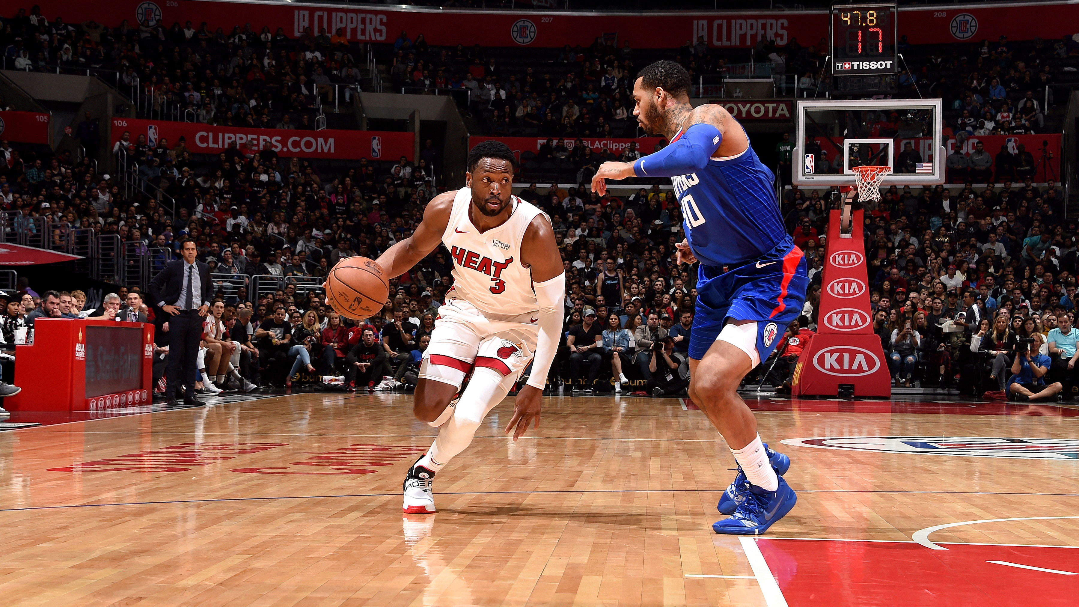 GAME RECAP: Heat 121, Clippers 98