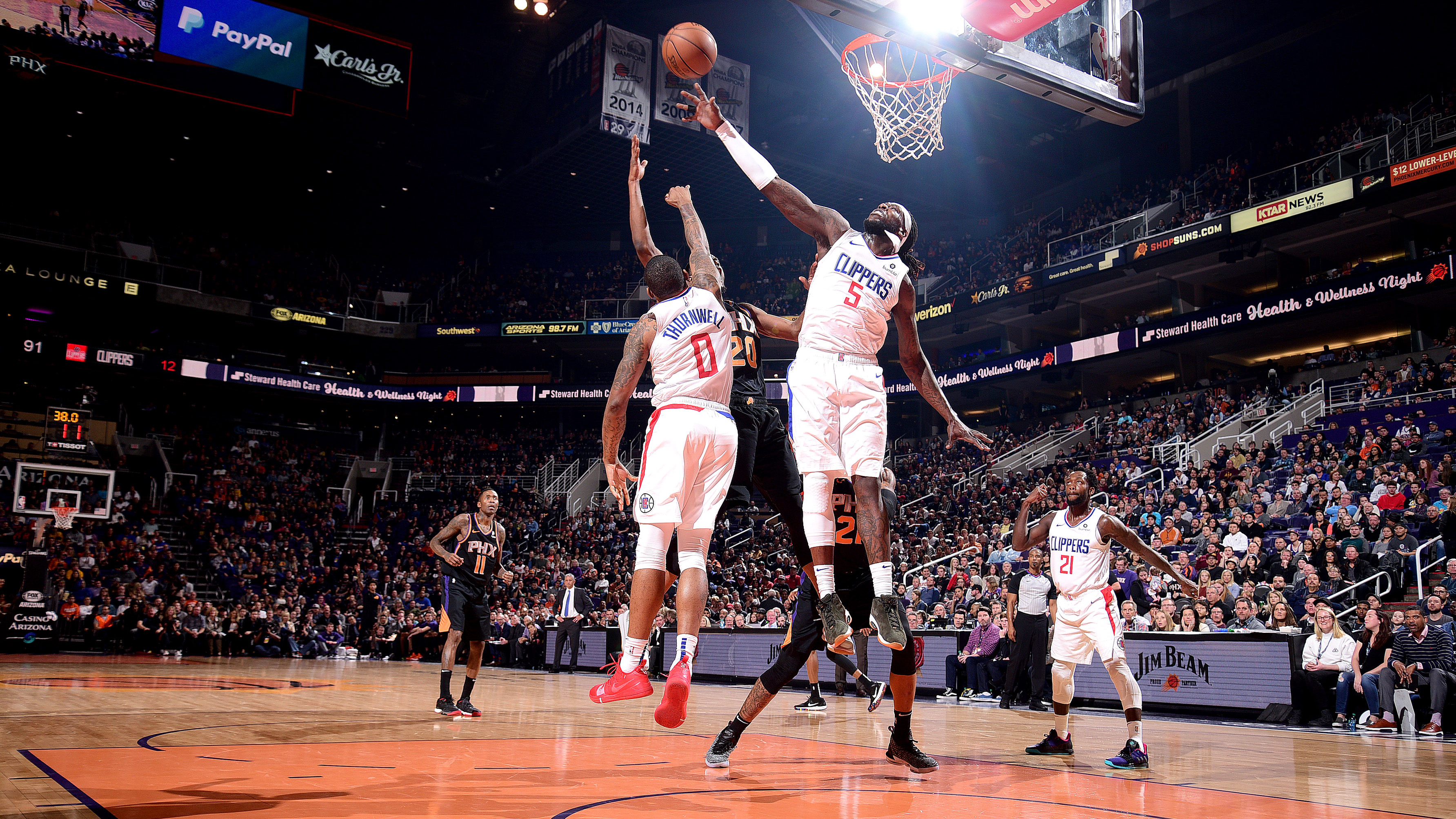GAME RECAP: Clippers 121, Suns 111