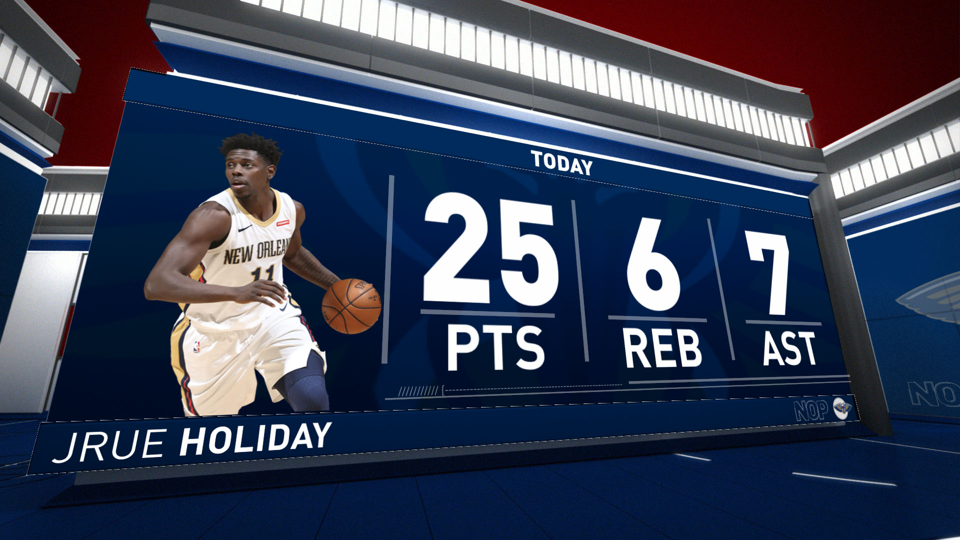 Stat Leader Highlights: Jrue Holiday notches 25 vs. Golden State Warriors