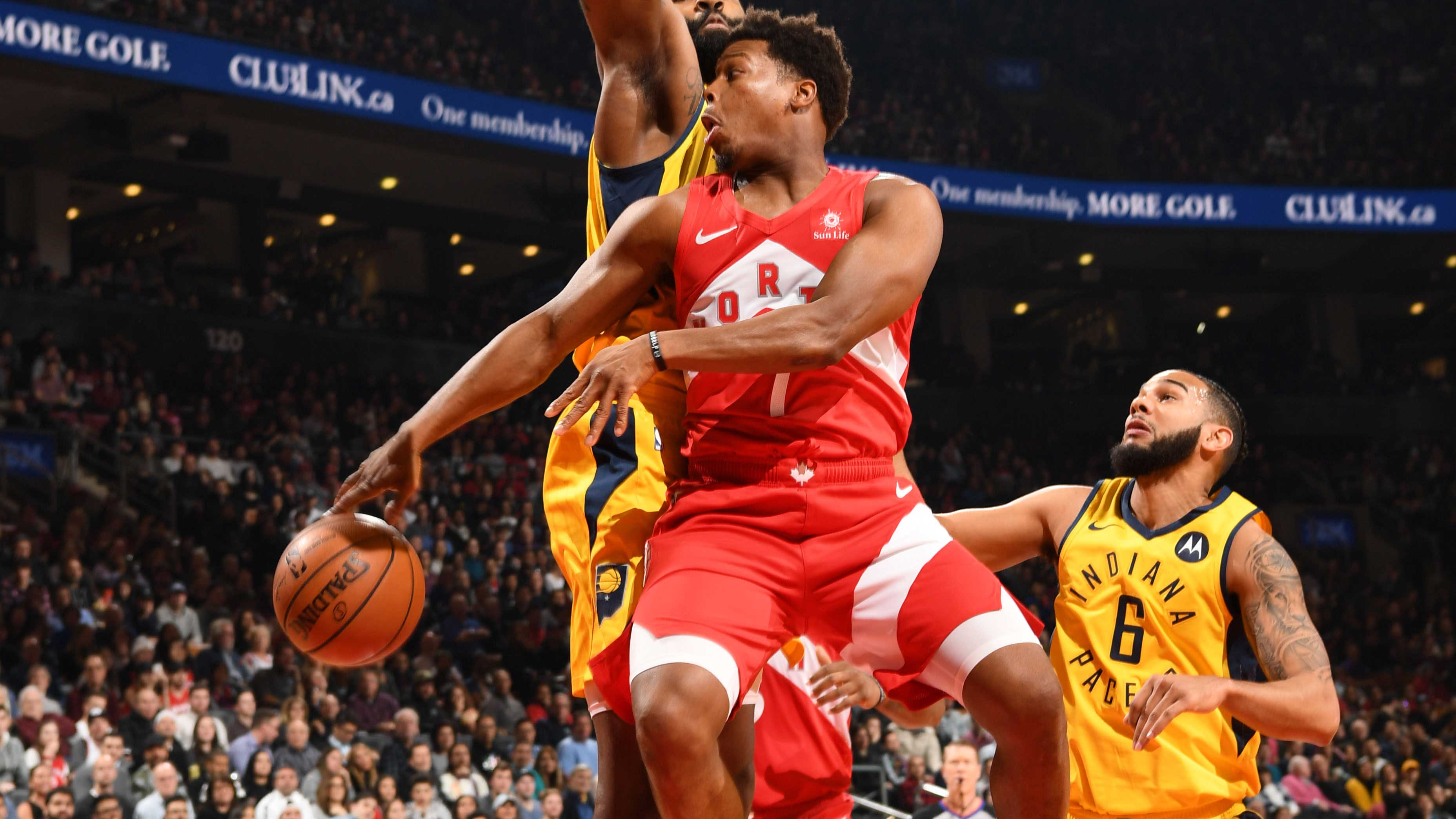 GAME RECAP: Raptors 121, Pacers 105