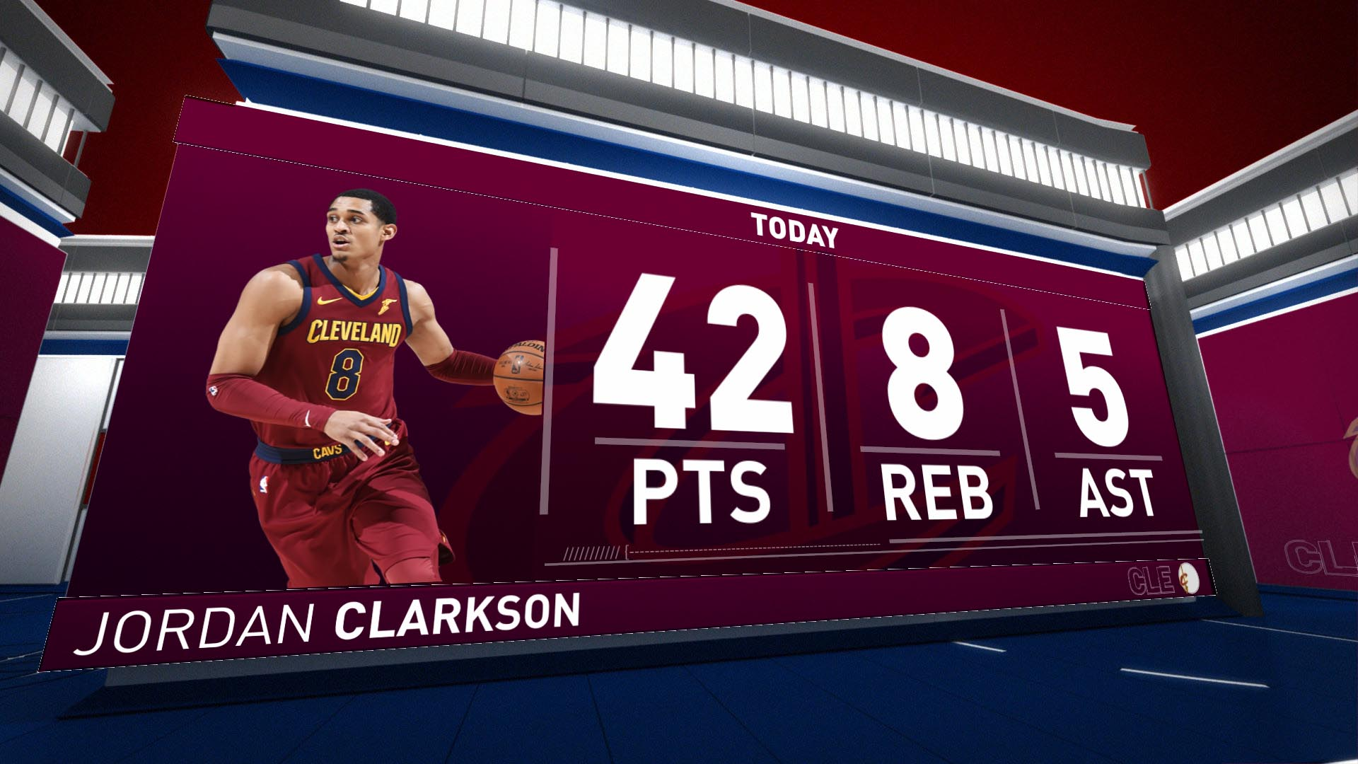 Highlights: Jordan Clarkson - Nets Vs. Cavaliers