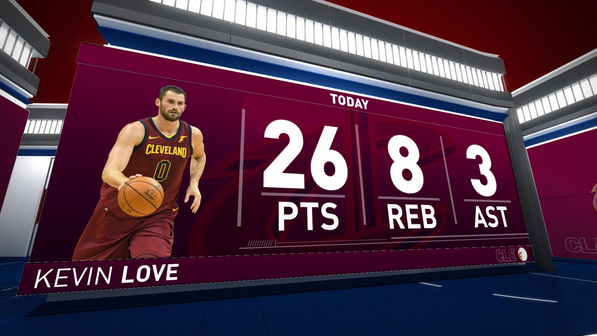 Highlights: Kevin Love - Cavaliers at Knicks
