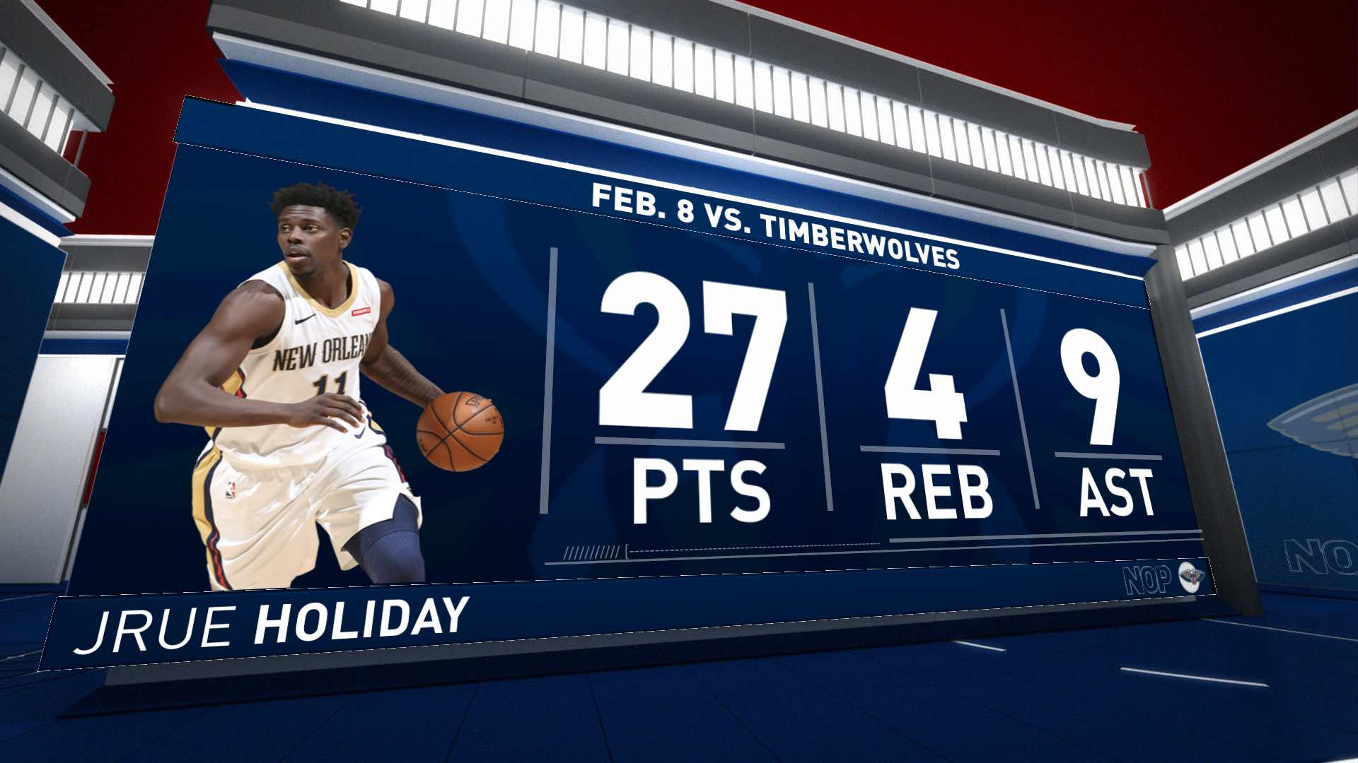 Highlights: Jrue Holiday | Timberwolves vs. Pelicans