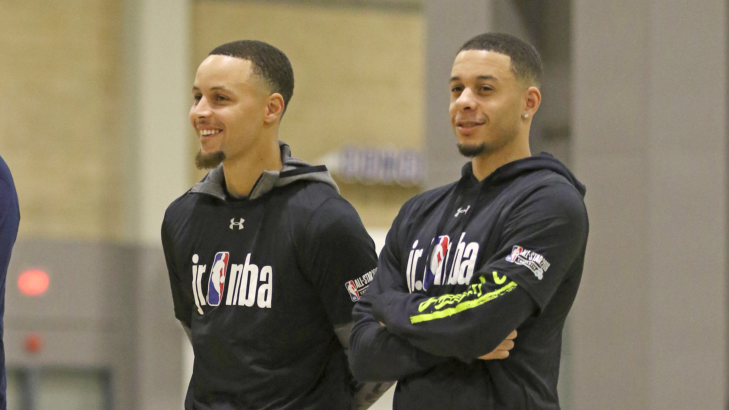 f1c2847820c Incredible  Curry reunion spices up All-Star weekend in Charlotte ...