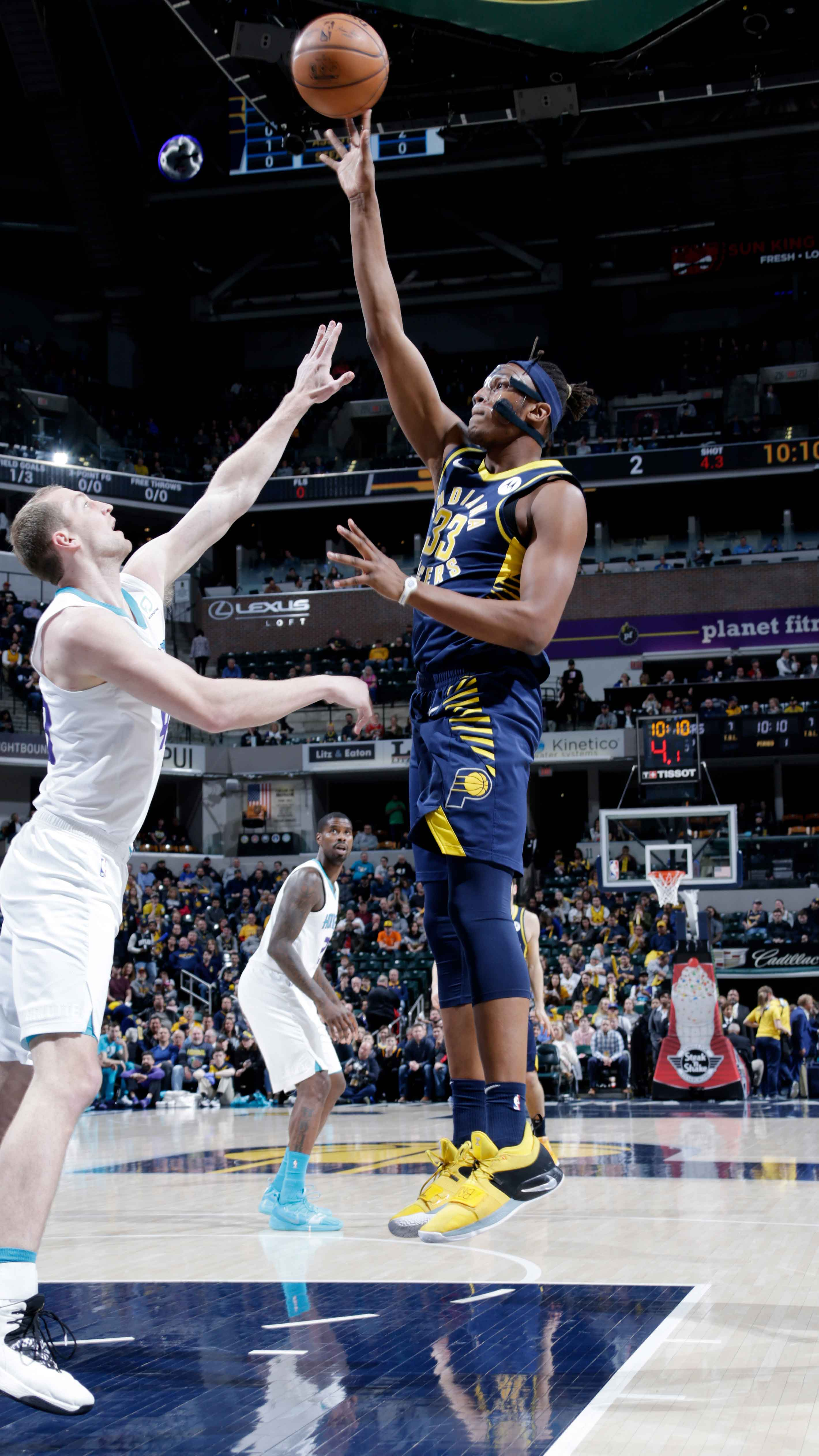GAME RECAP: Pacers 99, Hornets 90